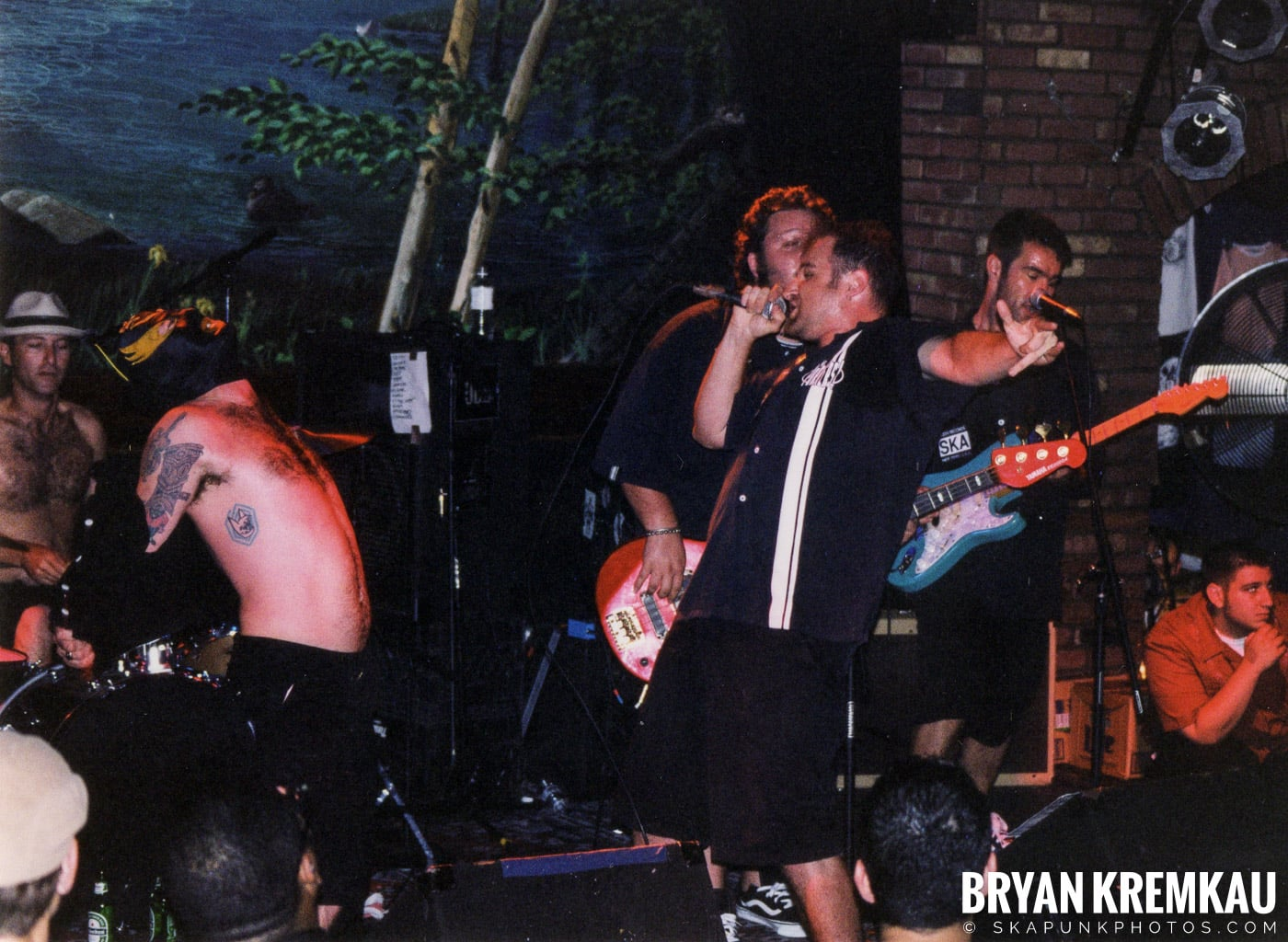 The Porkers @ Wetlands, NYC - 7.11.99 (13)