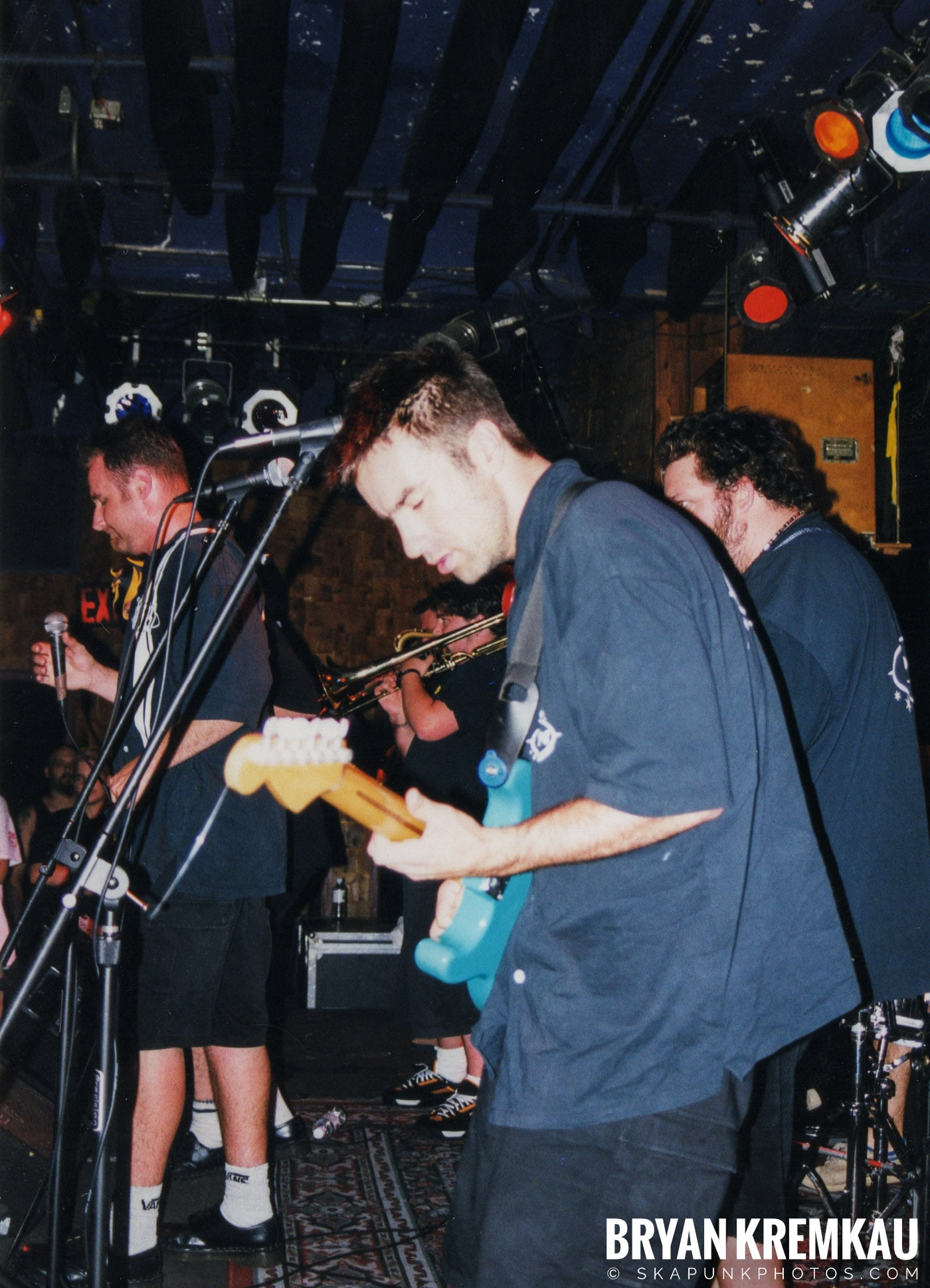 The Porkers @ Wetlands, NYC - 7.11.99 (10)