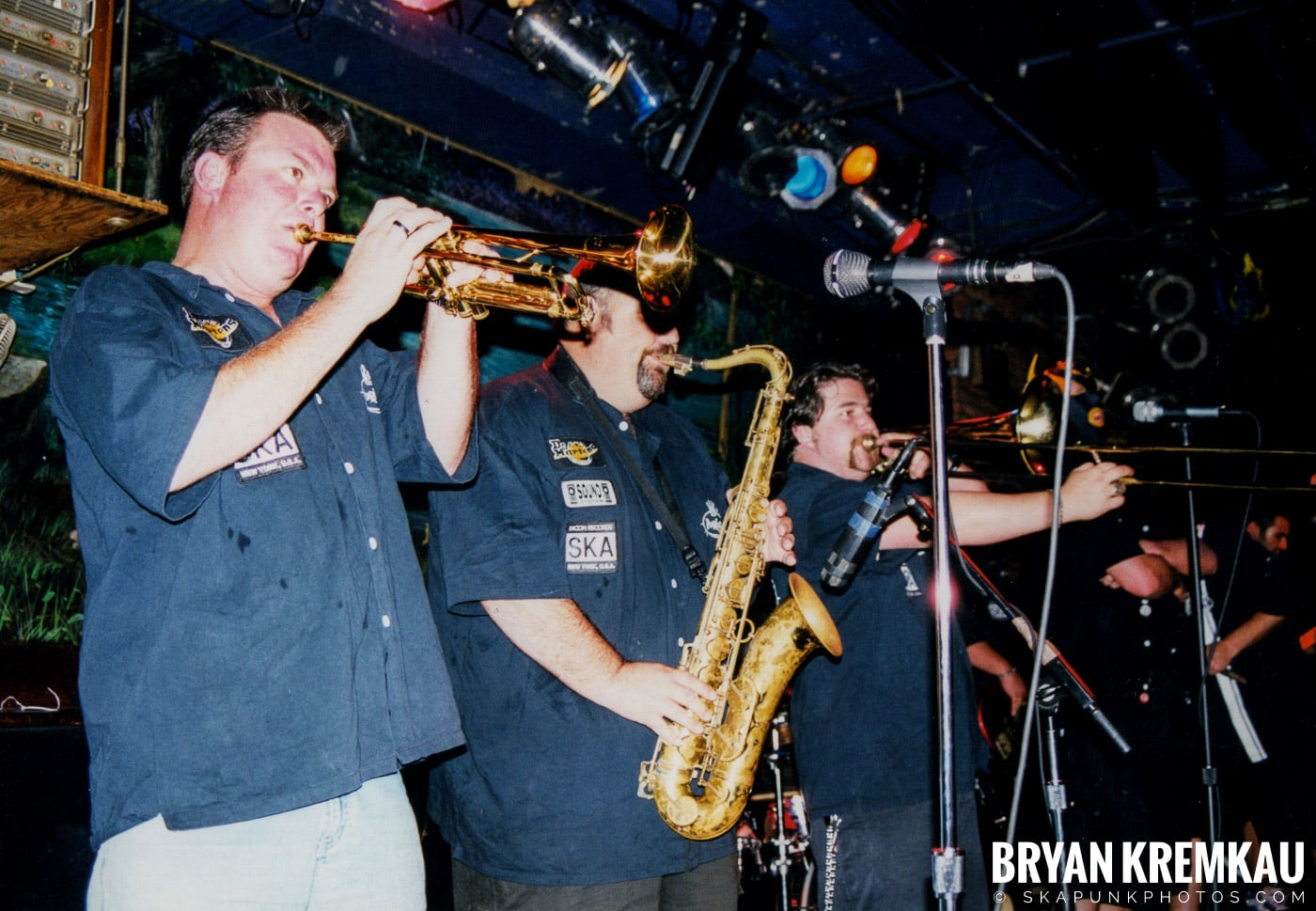 The Porkers @ Wetlands, NYC - 7.11.99 (8)