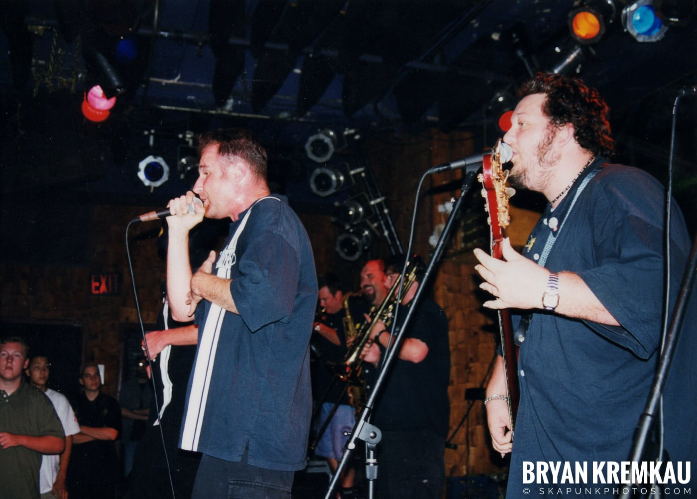 The Porkers @ Wetlands, NYC - 7.11.99 (5)