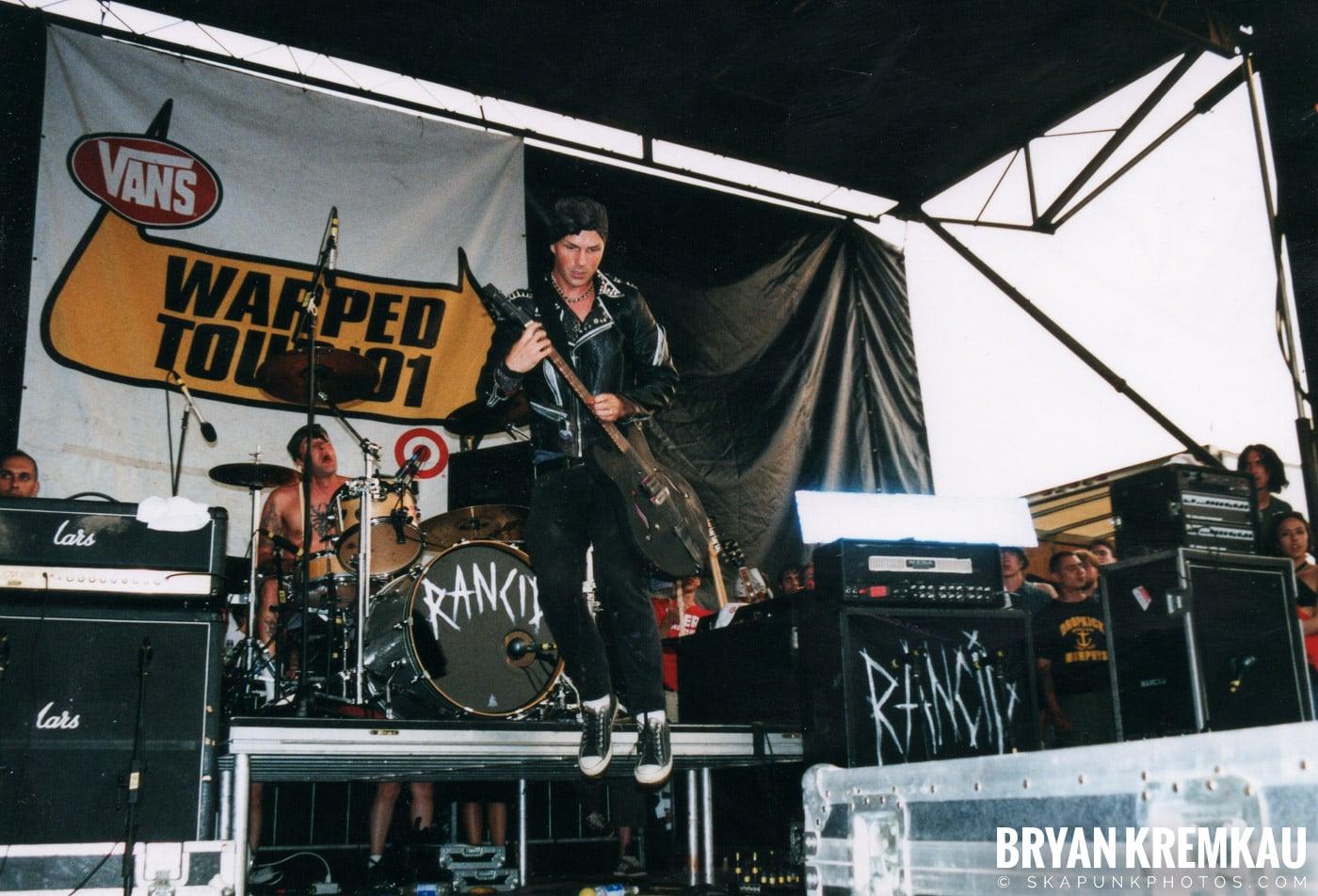 Rancid @ Vans Warped Tour, Randall's Island, NYC - 8.4.01 (13)