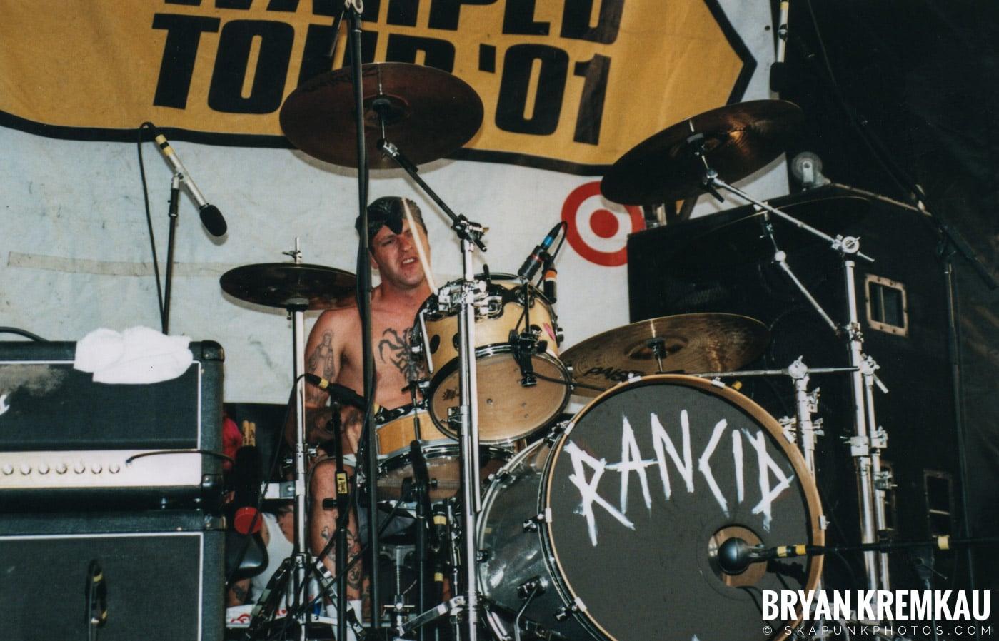 Rancid @ Vans Warped Tour, Randall's Island, NYC - 8.4.01 (5)