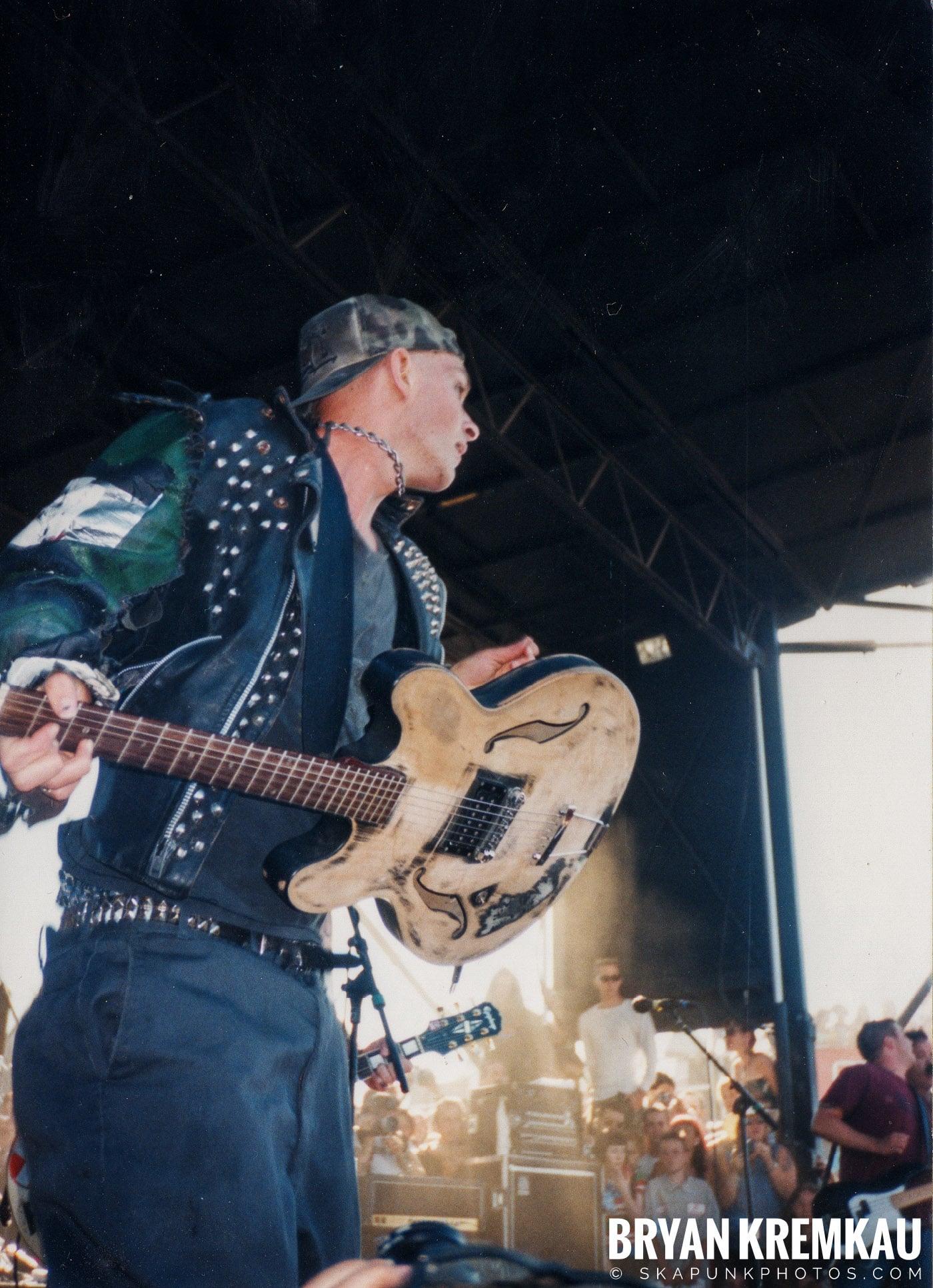 Rancid @ Vans Warped Tour, Randall's Island, NYC - 8.1.98 (18)