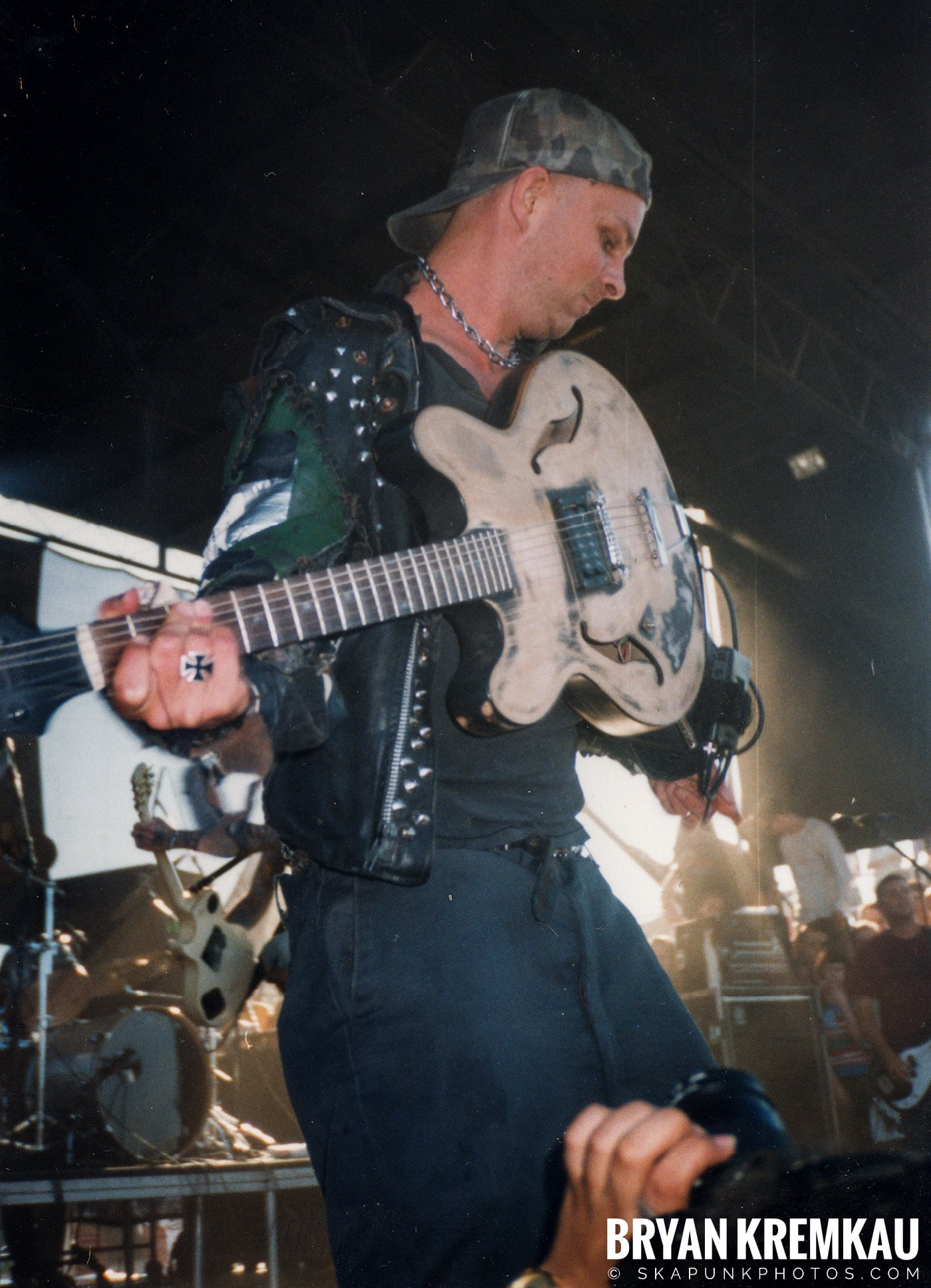 Rancid @ Vans Warped Tour, Randall's Island, NYC - 8.1.98 (17)