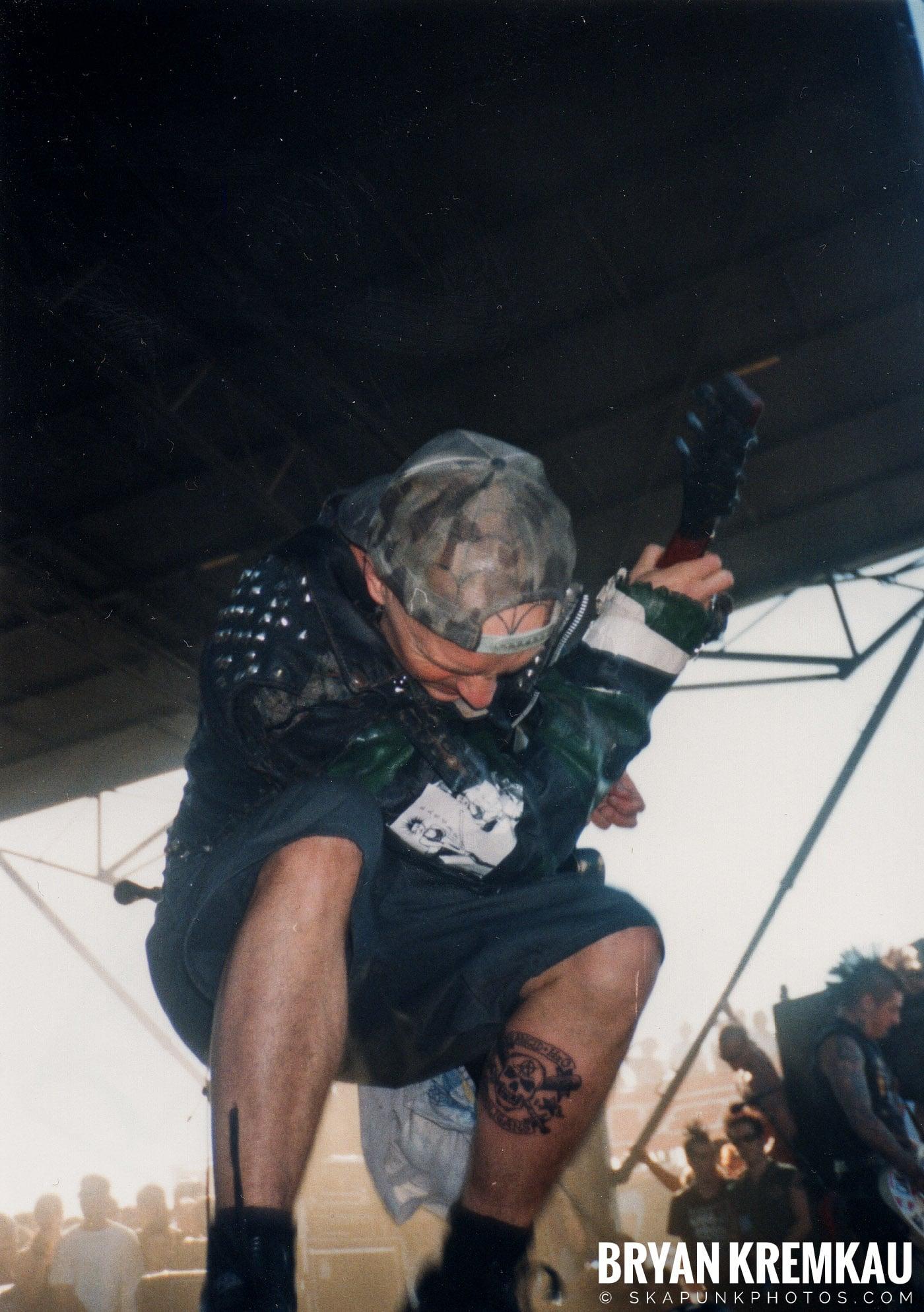Rancid @ Vans Warped Tour, Randall's Island, NYC - 8.1.98 (14)