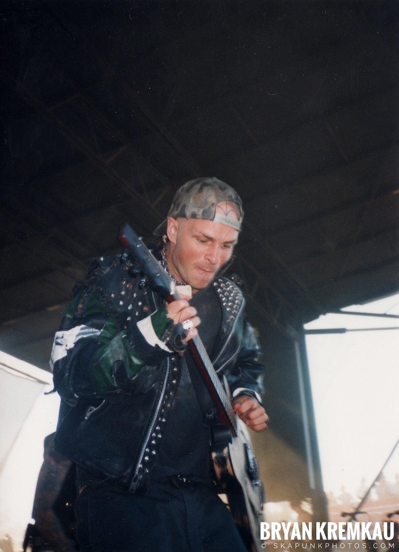 Rancid @ Vans Warped Tour, Randall's Island, NYC - 8.1.98 (13)