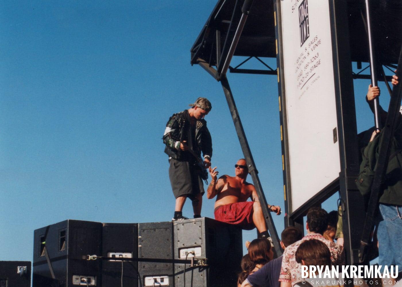 Rancid @ Vans Warped Tour, Randall's Island, NYC - 8.1.98 (12)