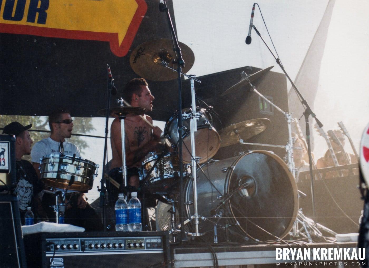 Rancid @ Vans Warped Tour, Randall's Island, NYC - 8.1.98 (11)