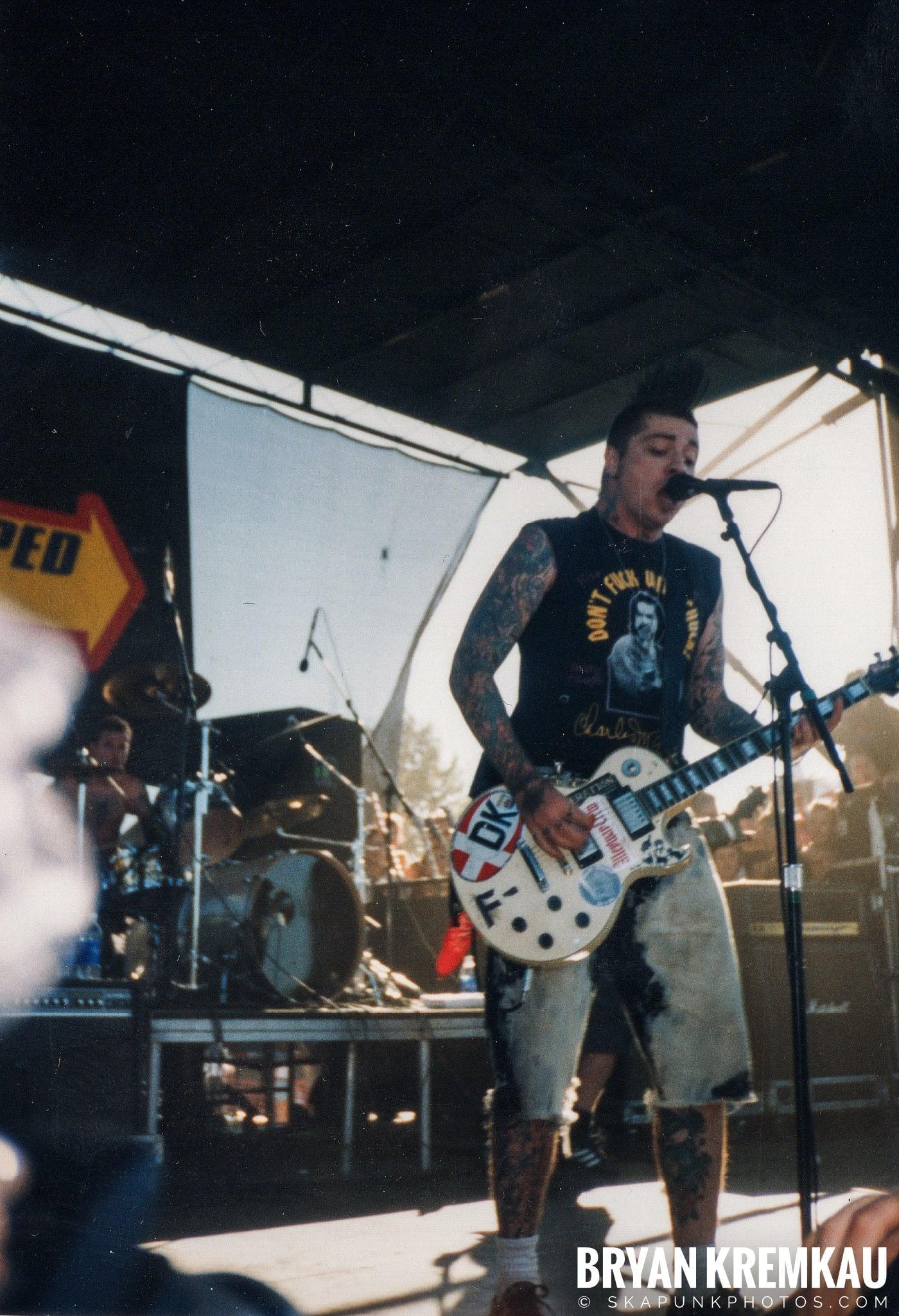 Rancid @ Vans Warped Tour, Randall's Island, NYC - 8.1.98 (6)