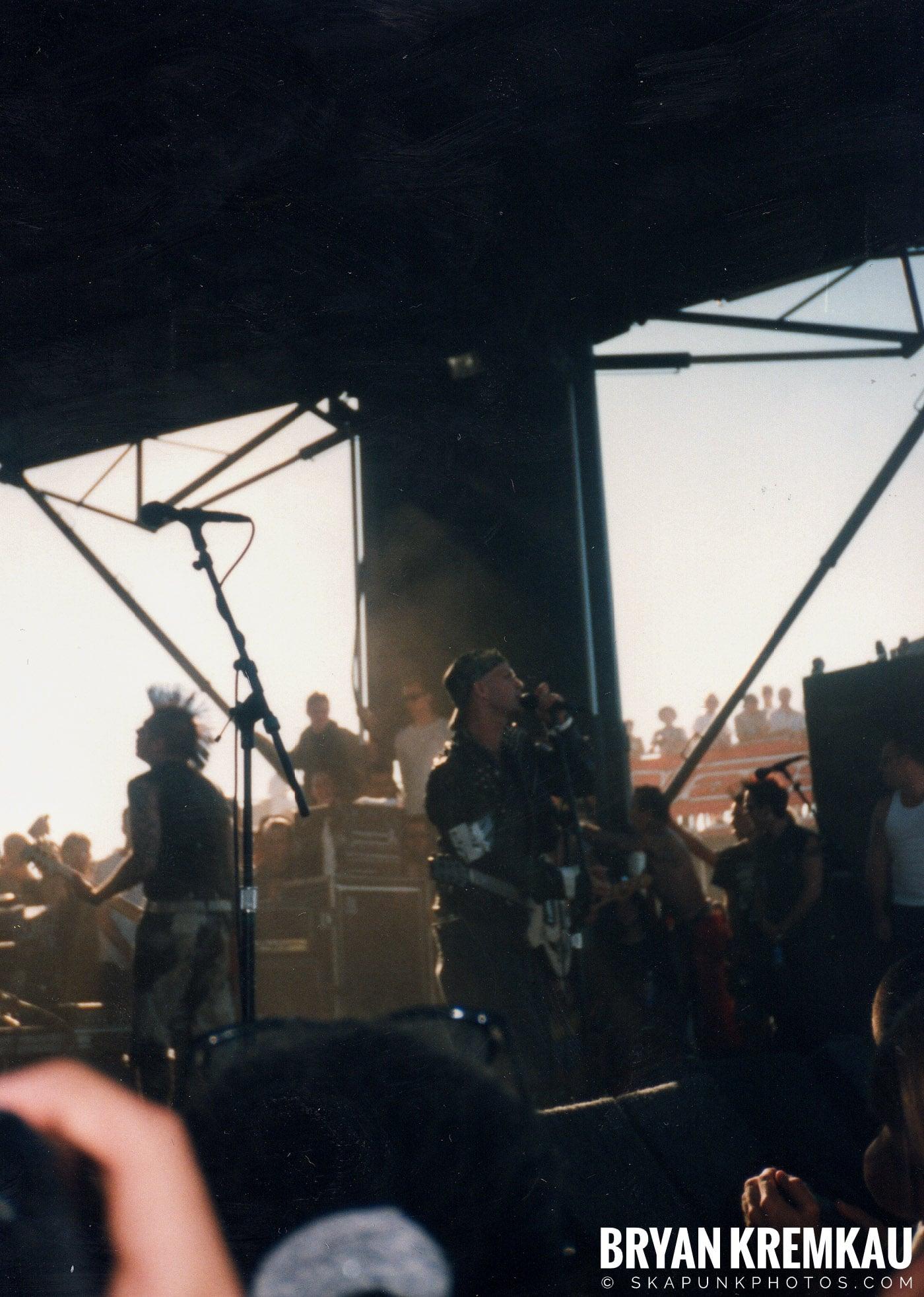 Rancid @ Vans Warped Tour, Randall's Island, NYC - 8.1.98 (5)