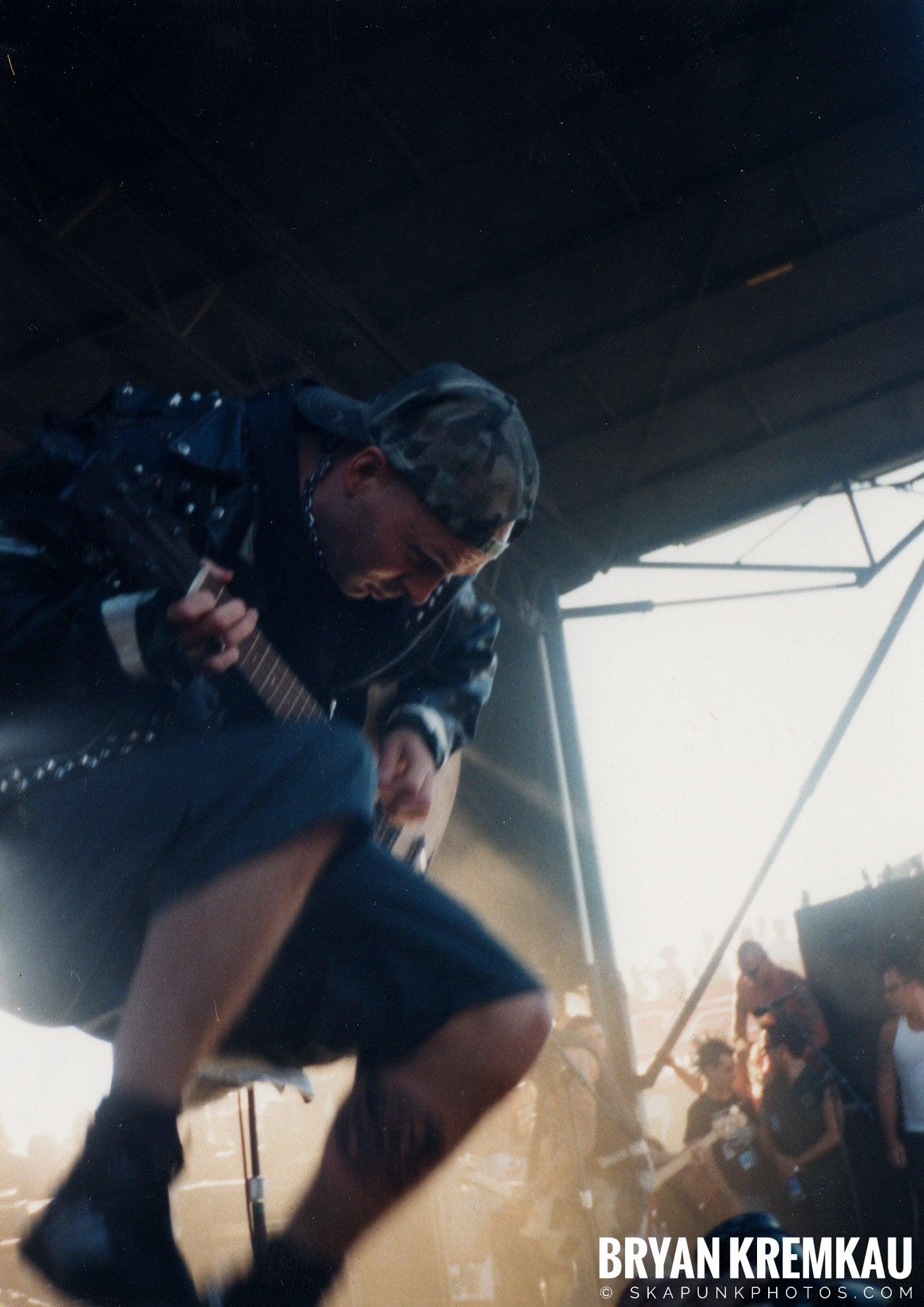 Rancid @ Vans Warped Tour, Randall's Island, NYC - 8.1.98 (2)