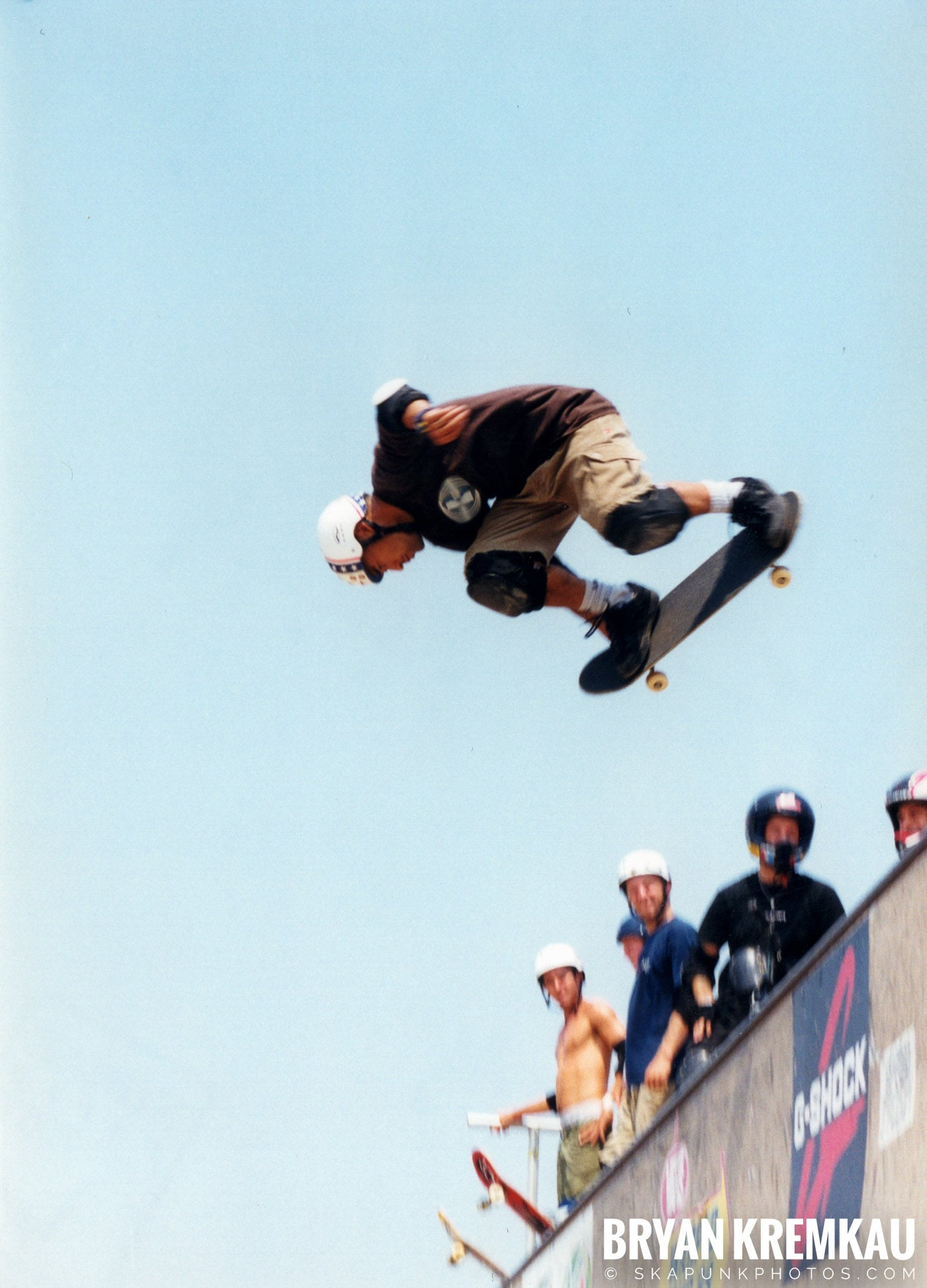 Skaters @ Vans Warped Tour, Randall's Island, NYC - 8.1.98 (2)