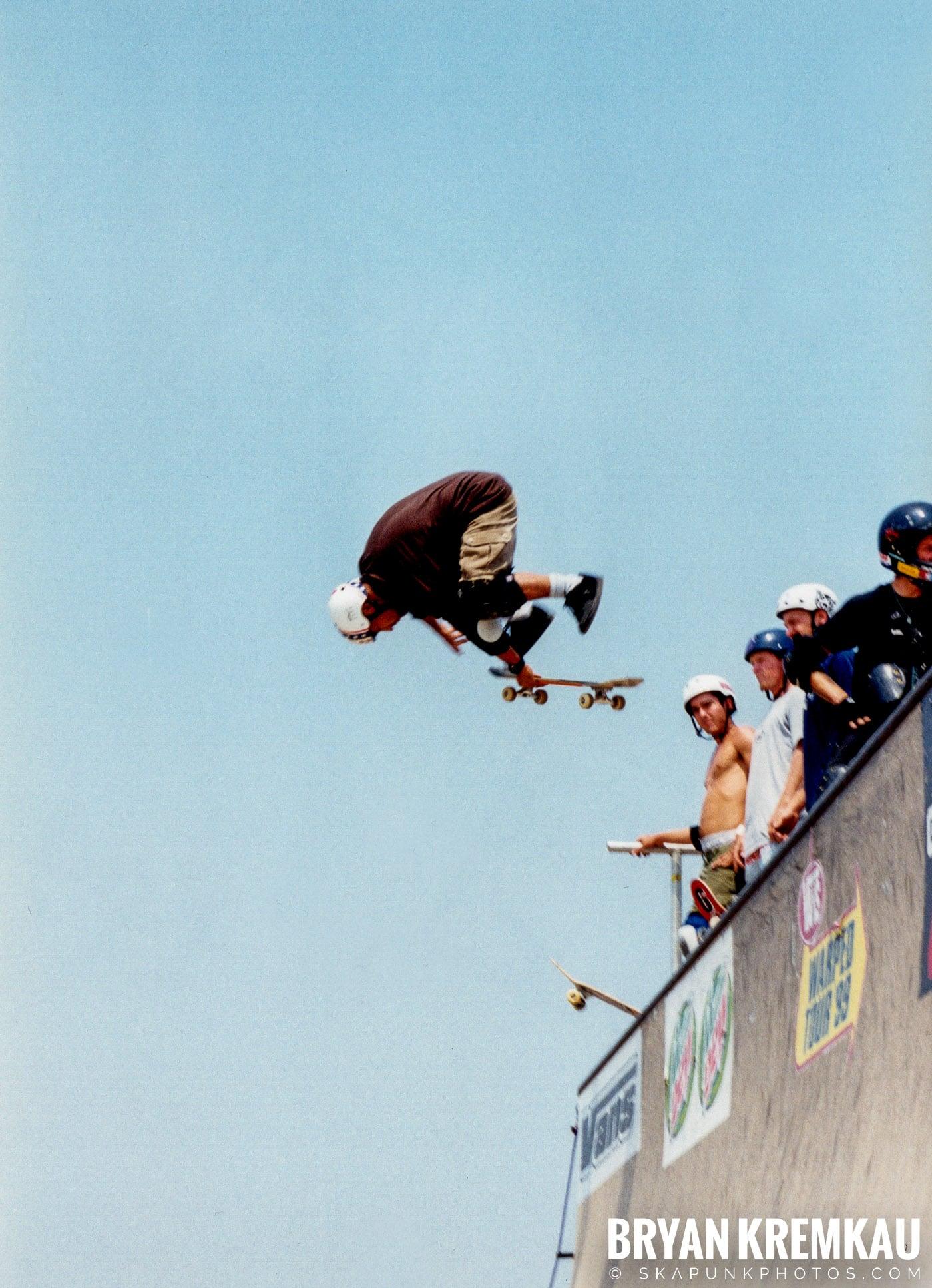 Skaters @ Vans Warped Tour, Randall's Island, NYC - 8.1.98 (1)
