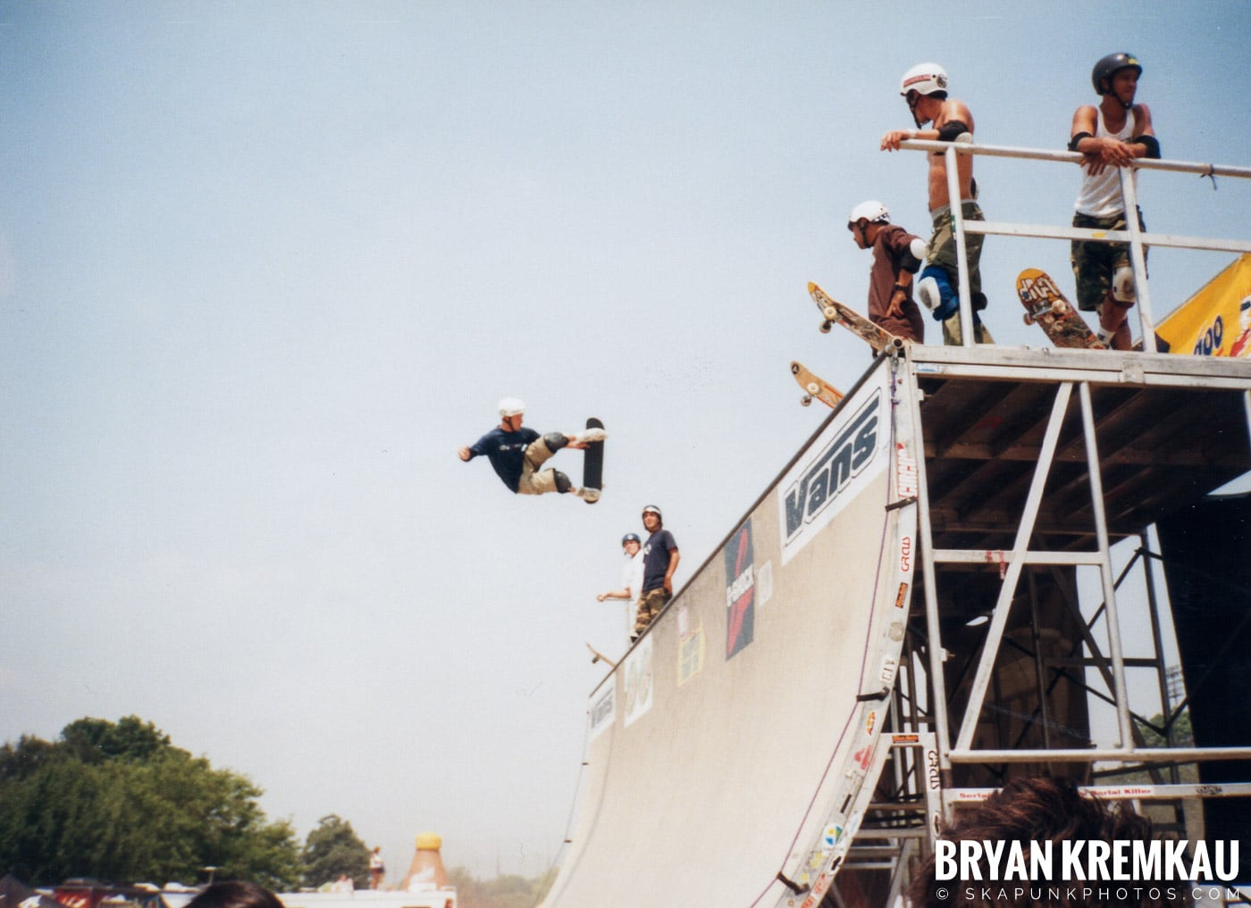 Skaters @ Vans Warped Tour, Randall's Island, NYC - 7.16.99 (11)