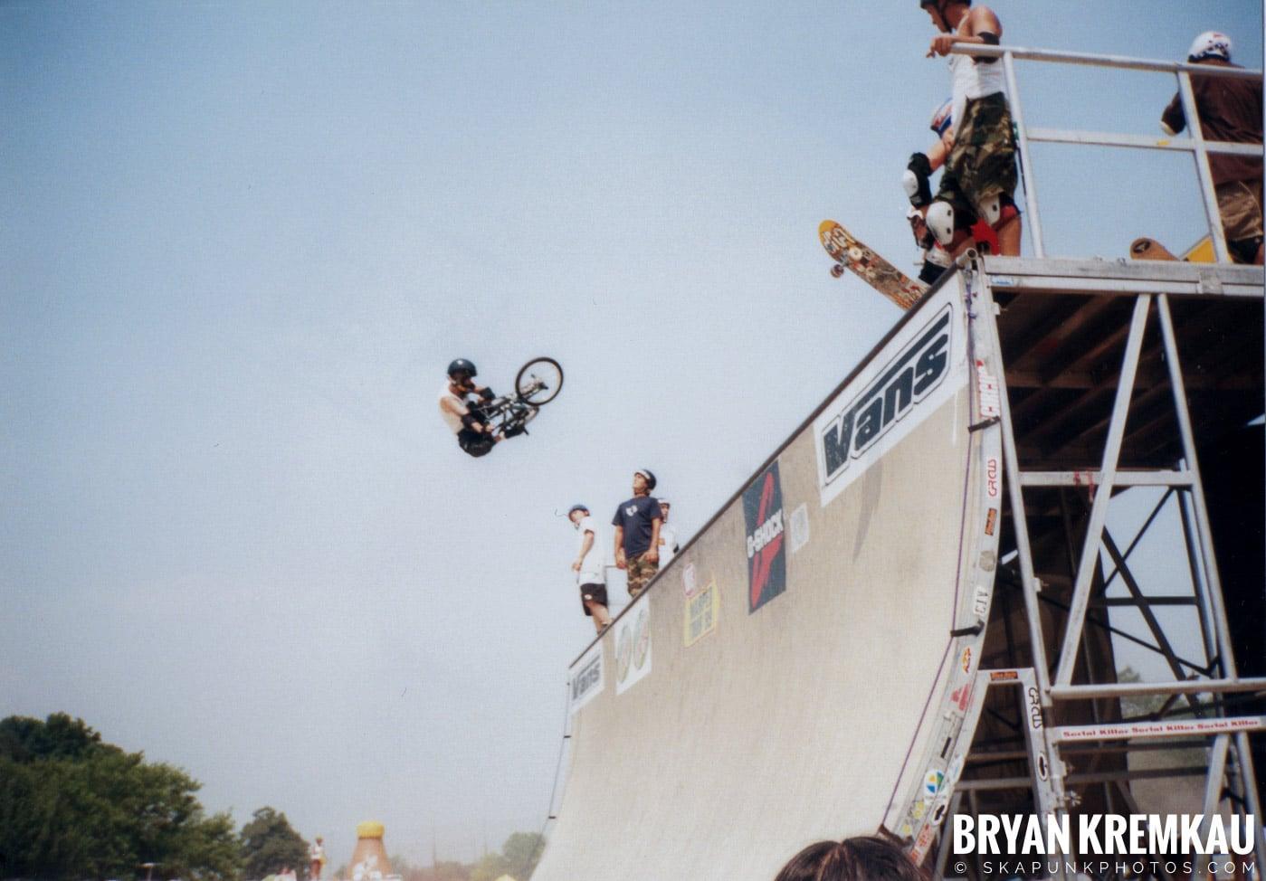 Skaters @ Vans Warped Tour, Randall's Island, NYC - 7.16.99 (8)