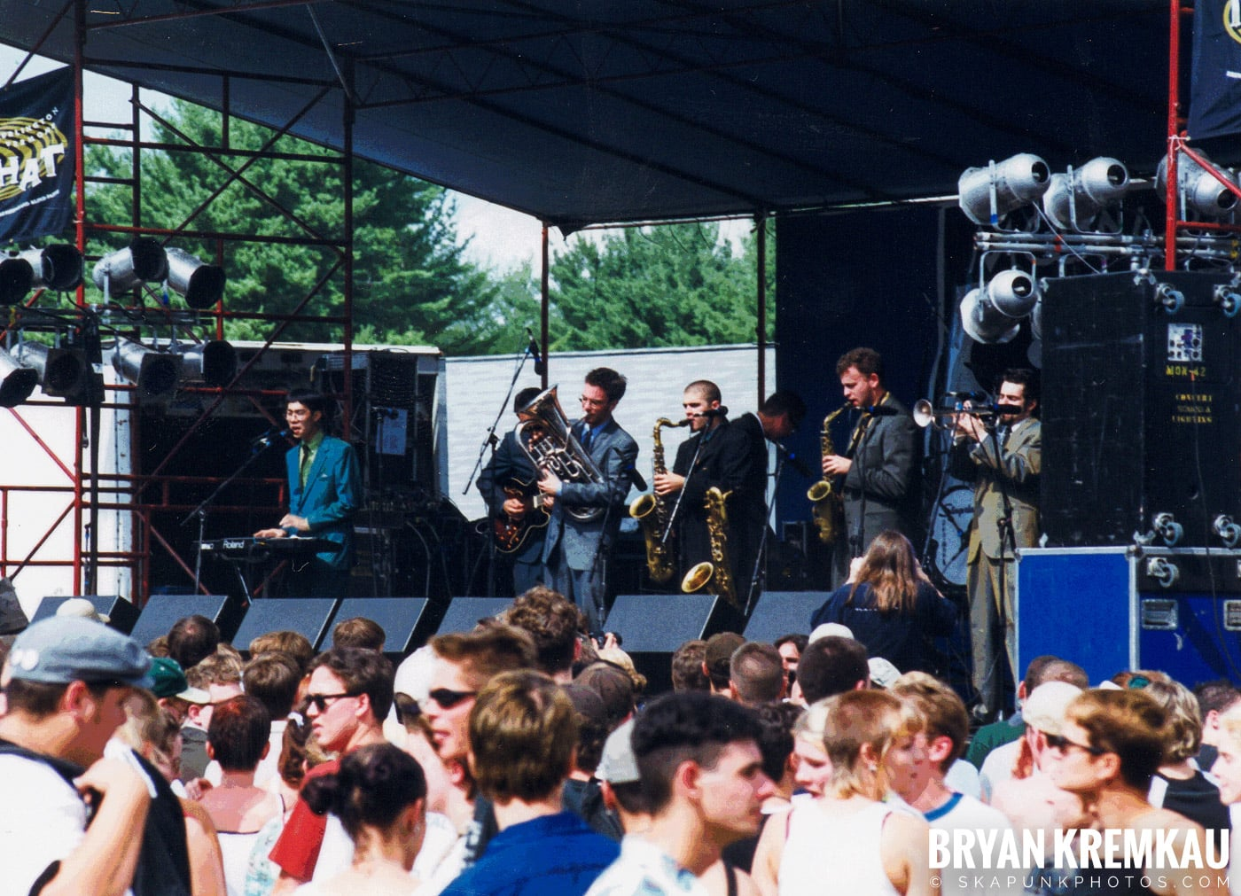 Skavoovie & The Epitones @ New England Ska Fest 98, Westford, MA - 8.22.98 (2)