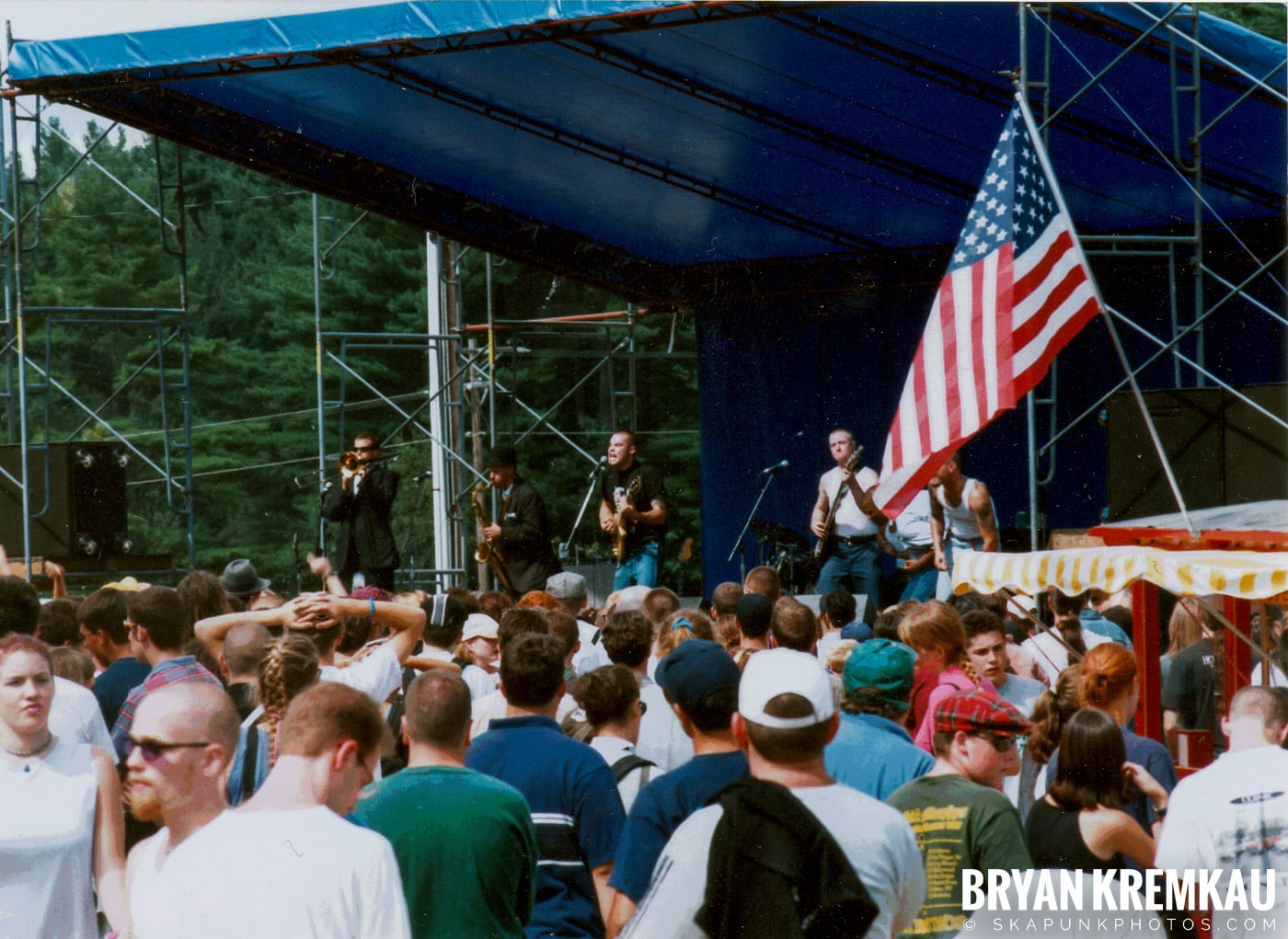 The Skoidats @ New England Ska Fest 98, Westford, MA - 8.22.98 (9)