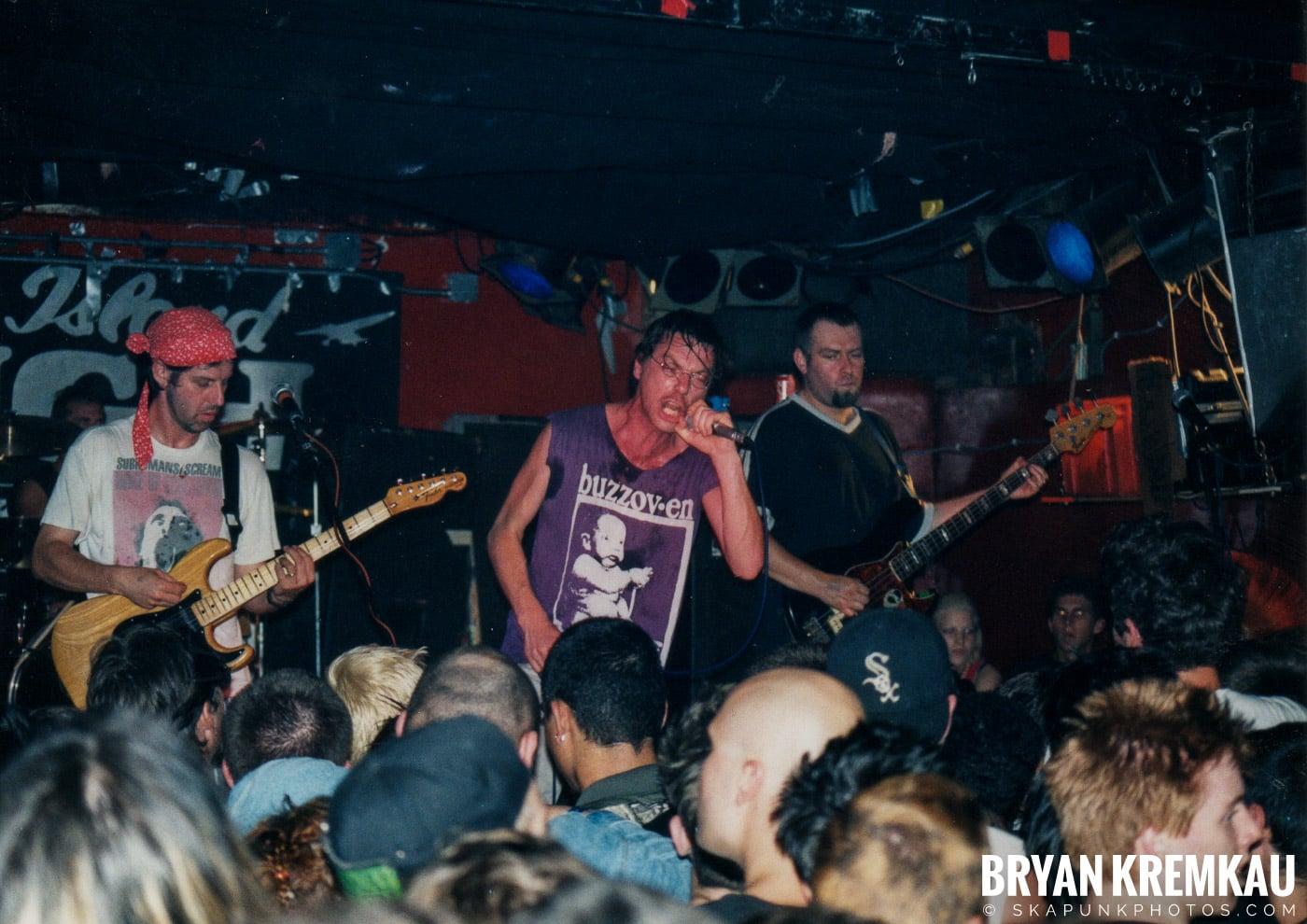 Subhumans @ Coney Island High, NYC - 9.10.98 (26)