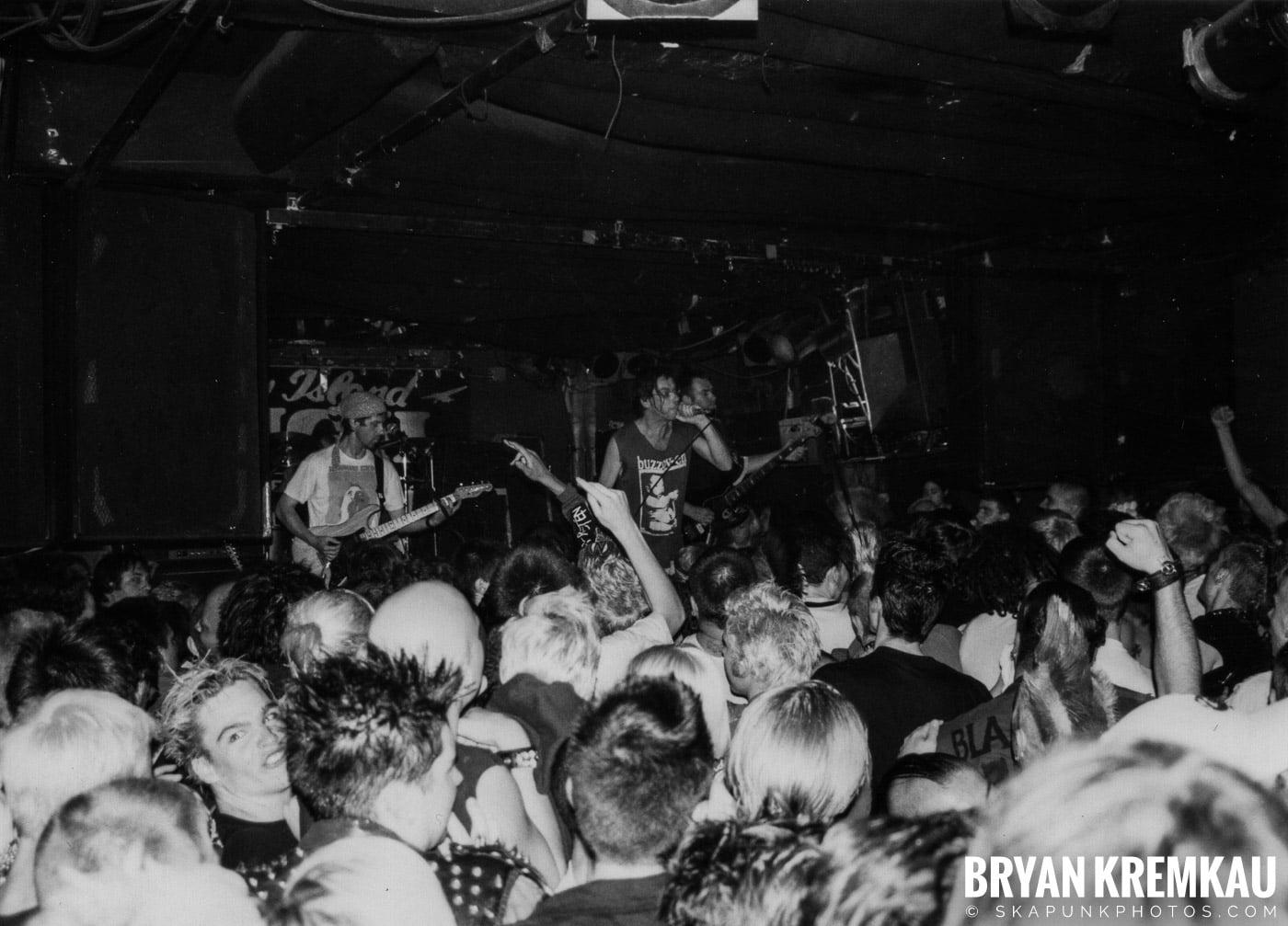 Subhumans @ Coney Island High, NYC - 9.10.98 (22)