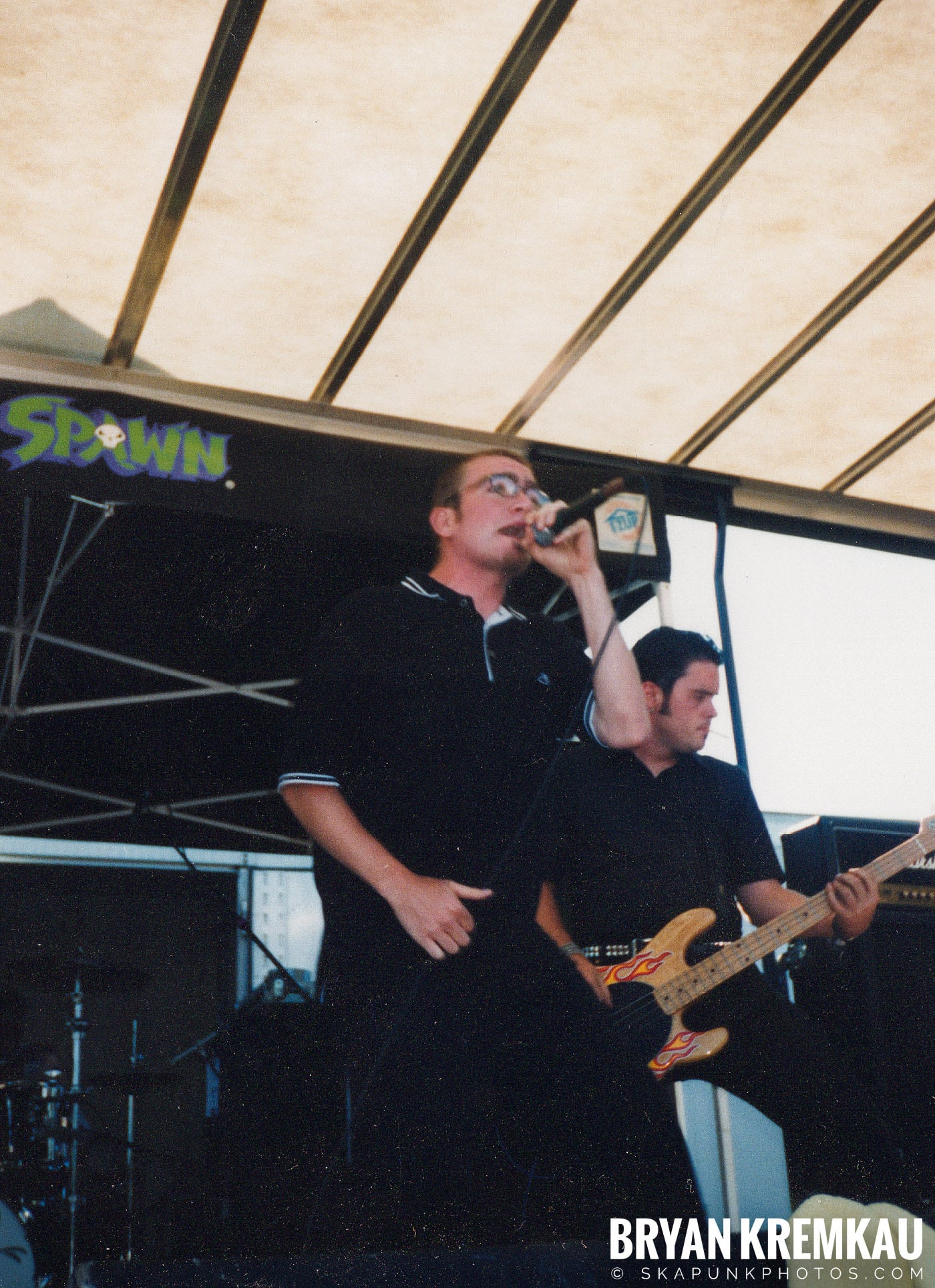 The Smooths @ Vans Warped Tour, Randall's Island, NYC - 8.1.98 (13)