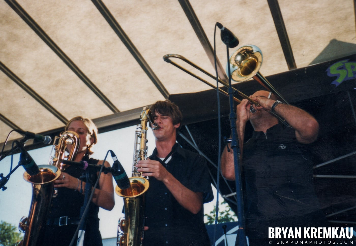 The Smooths @ Vans Warped Tour, Randall's Island, NYC - 8.1.98 (8)