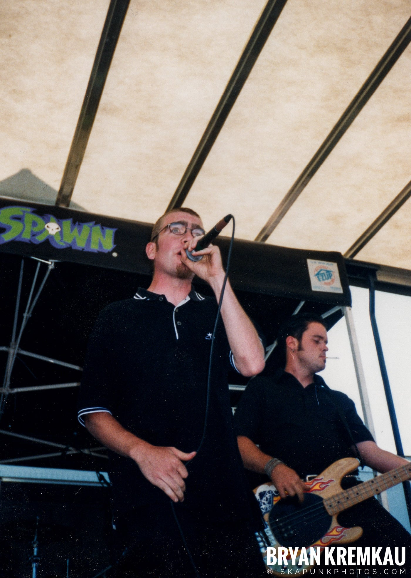 The Smooths @ Vans Warped Tour, Randall's Island, NYC - 8.1.98 (7)