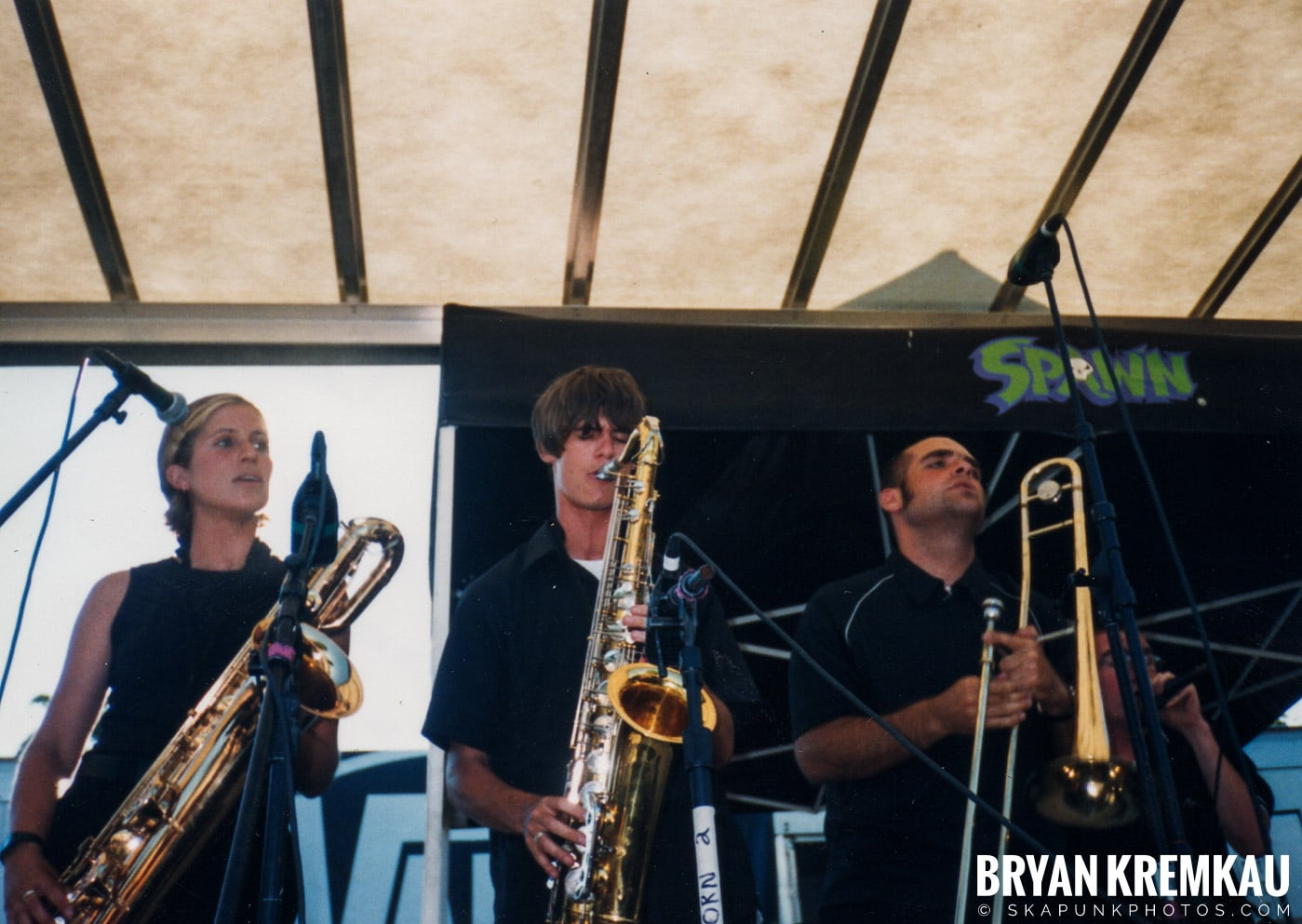 The Smooths @ Vans Warped Tour, Randall's Island, NYC - 8.1.98 (6)