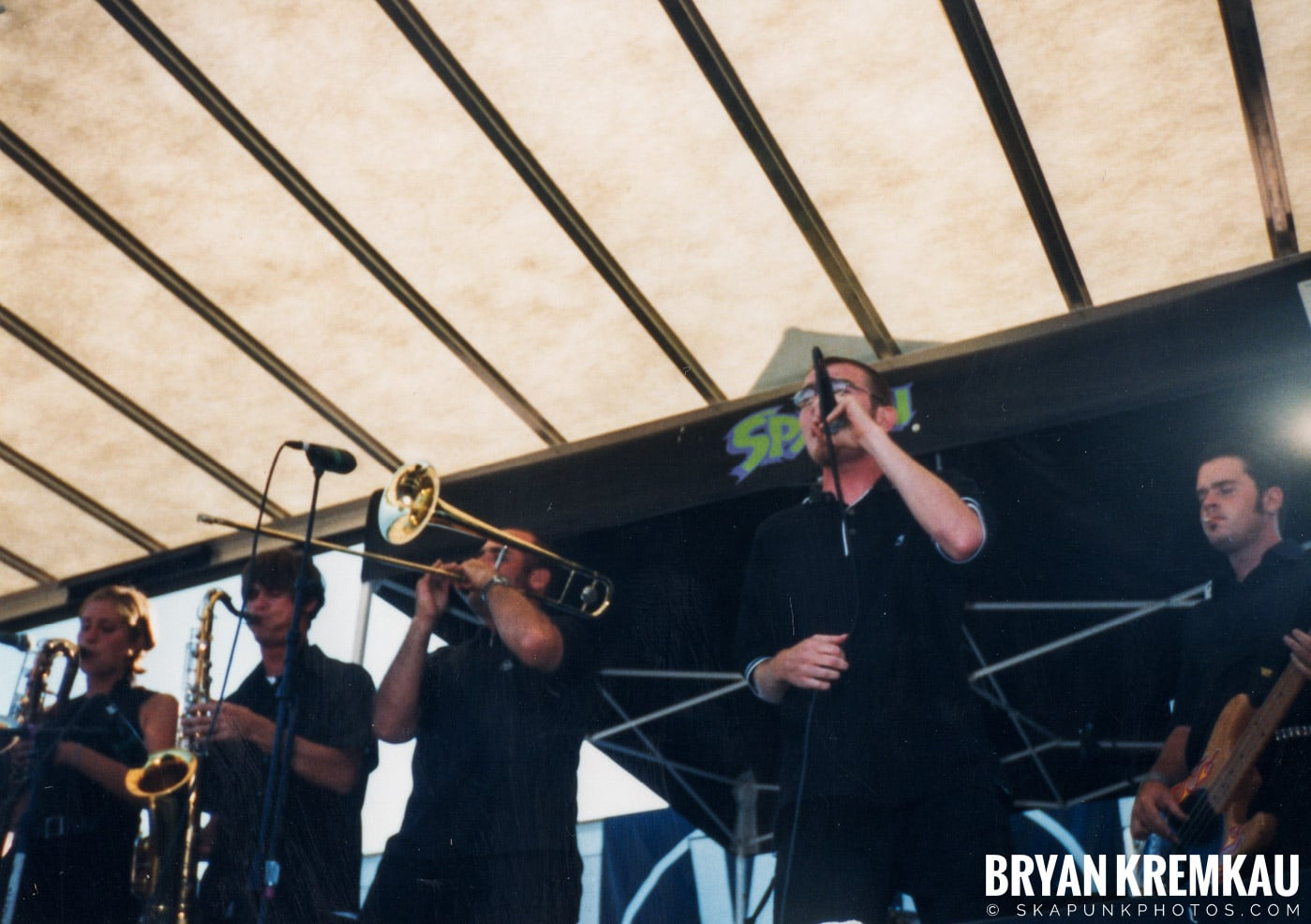 The Smooths @ Vans Warped Tour, Randall's Island, NYC - 8.1.98 (5)
