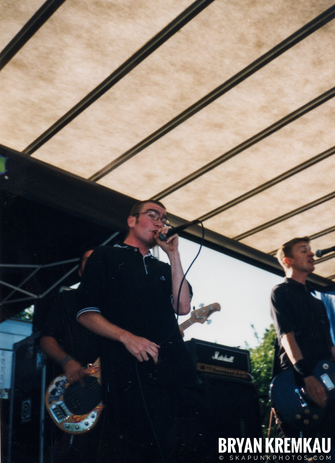 The Smooths @ Vans Warped Tour, Randall's Island, NYC - 8.1.98 (4)