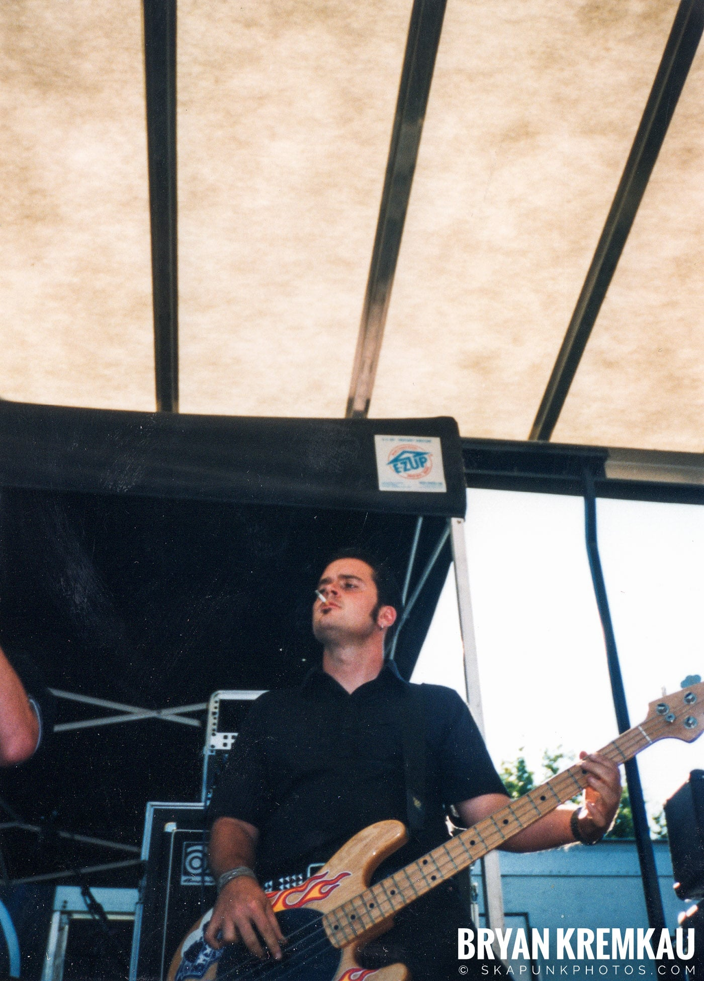 The Smooths @ Vans Warped Tour, Randall's Island, NYC - 8.1.98 (3)