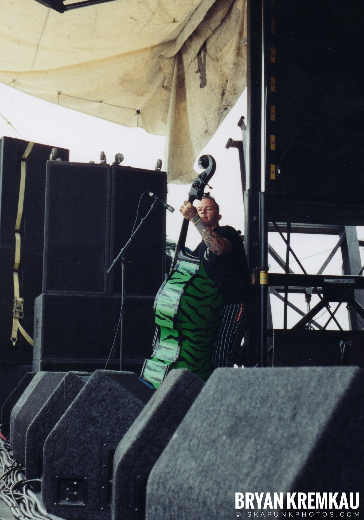 Tiger Army @ Vans Warped Tour, Randall's Island, NYC - 8.7.04 (17)