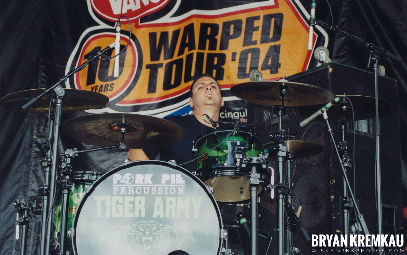 Tiger Army @ Vans Warped Tour, Randall's Island, NYC - 8.7.04 (1)