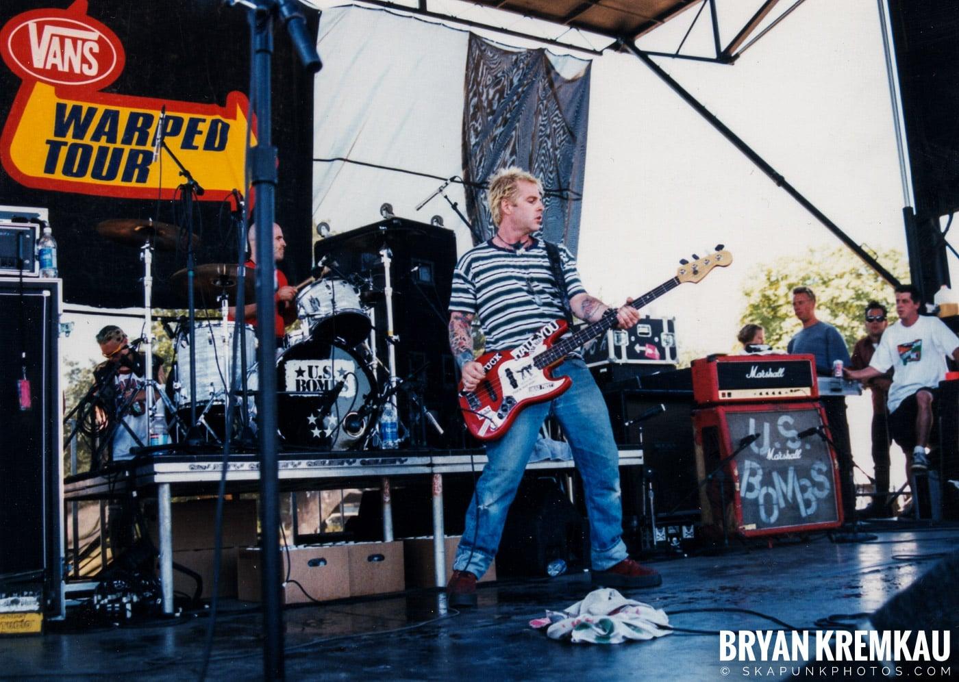 U.S. Bombs @ Vans Warped Tour, Randall's Island, NYC - 8.1.98 (4)