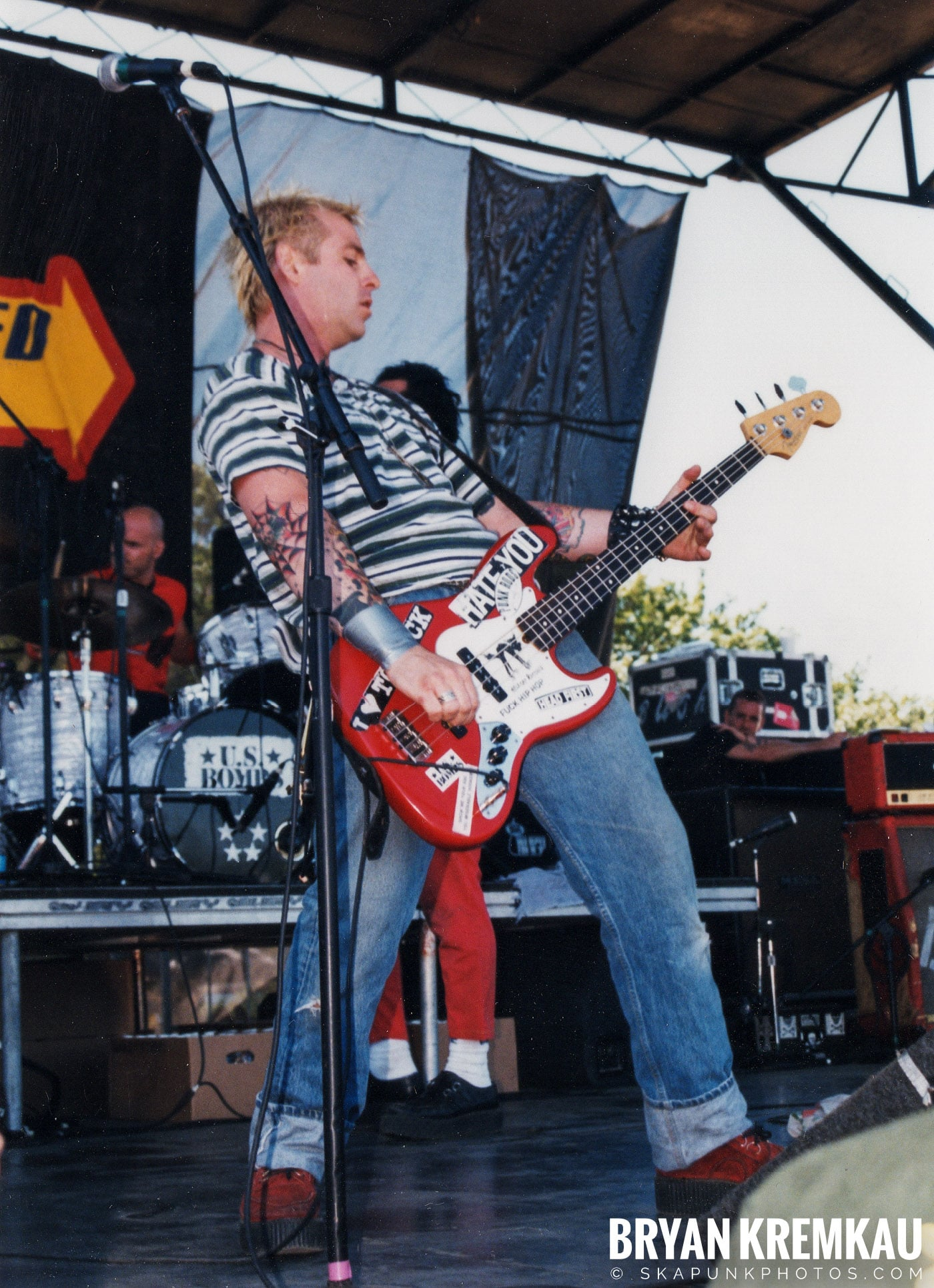 U.S. Bombs @ Vans Warped Tour, Randall's Island, NYC - 8.1.98 (3)