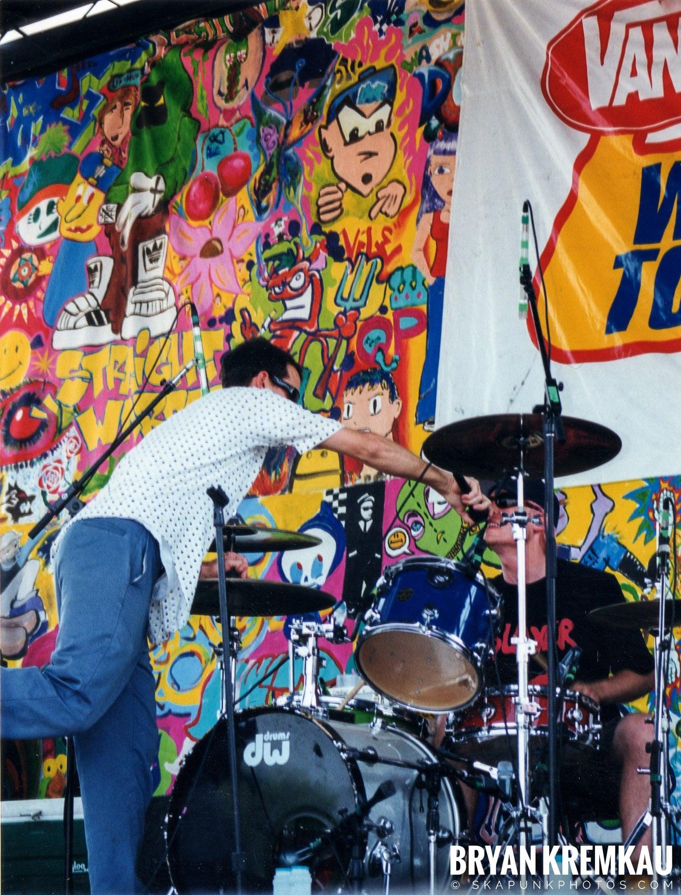 The Vandals @ Vans Warped Tour, Randall's Island, NYC - 7.16.99 (6)