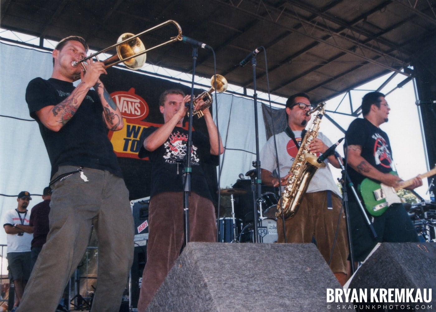 Voodoo Glow Skulls @ Vans Warped Tour, Randall's Island, NYC - 8.1.98 (1)