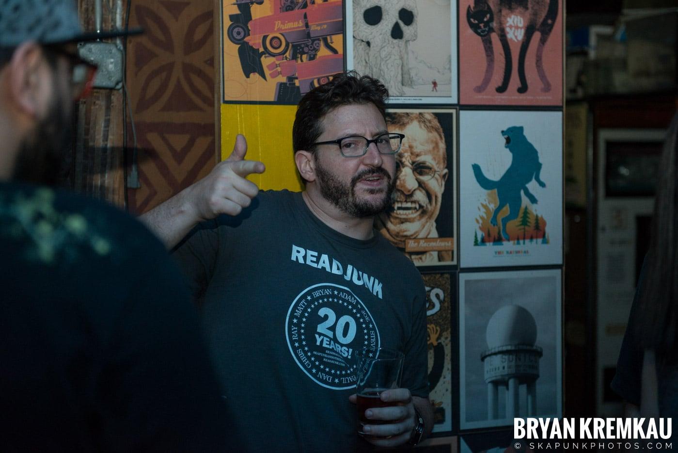 ReadJunk.com 20th Anniversary Party @ Otto's Shrunken Head, NYC - 4.29.17 (85)