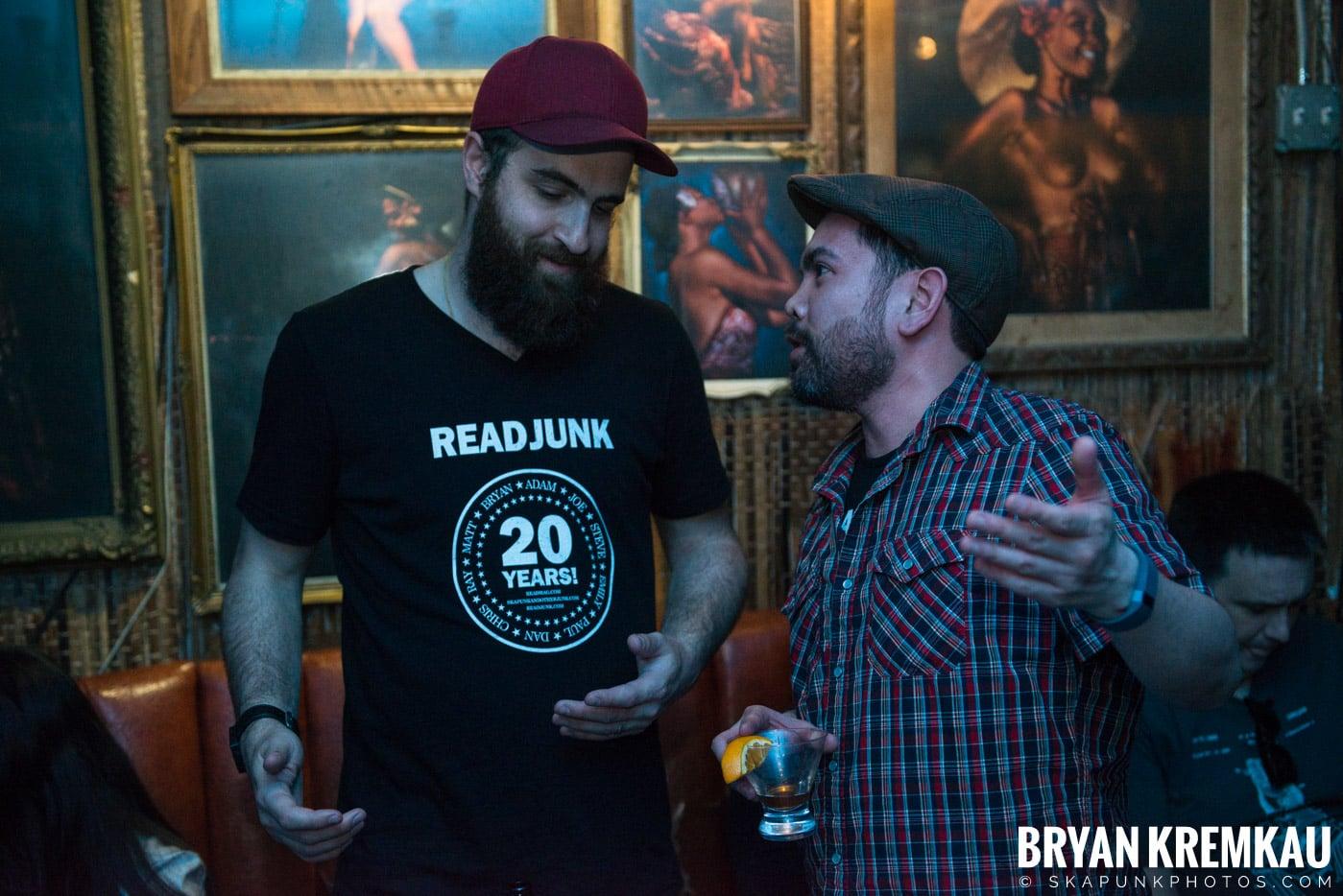 ReadJunk.com 20th Anniversary Party @ Otto's Shrunken Head, NYC - 4.29.17 (30)