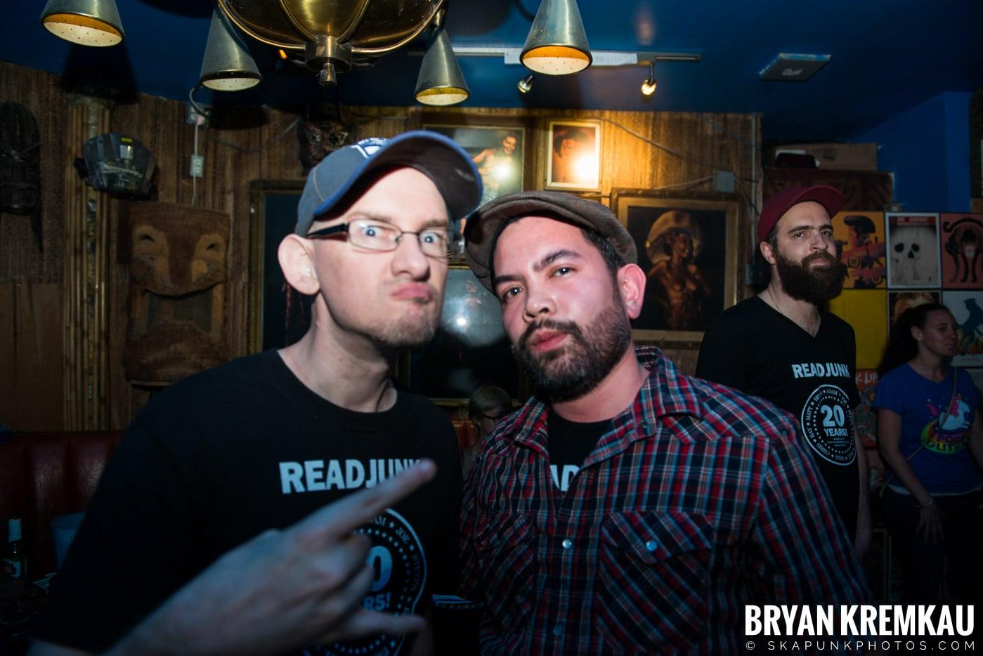 ReadJunk.com 20th Anniversary Party @ Otto's Shrunken Head, NYC - 4.29.17 (28)