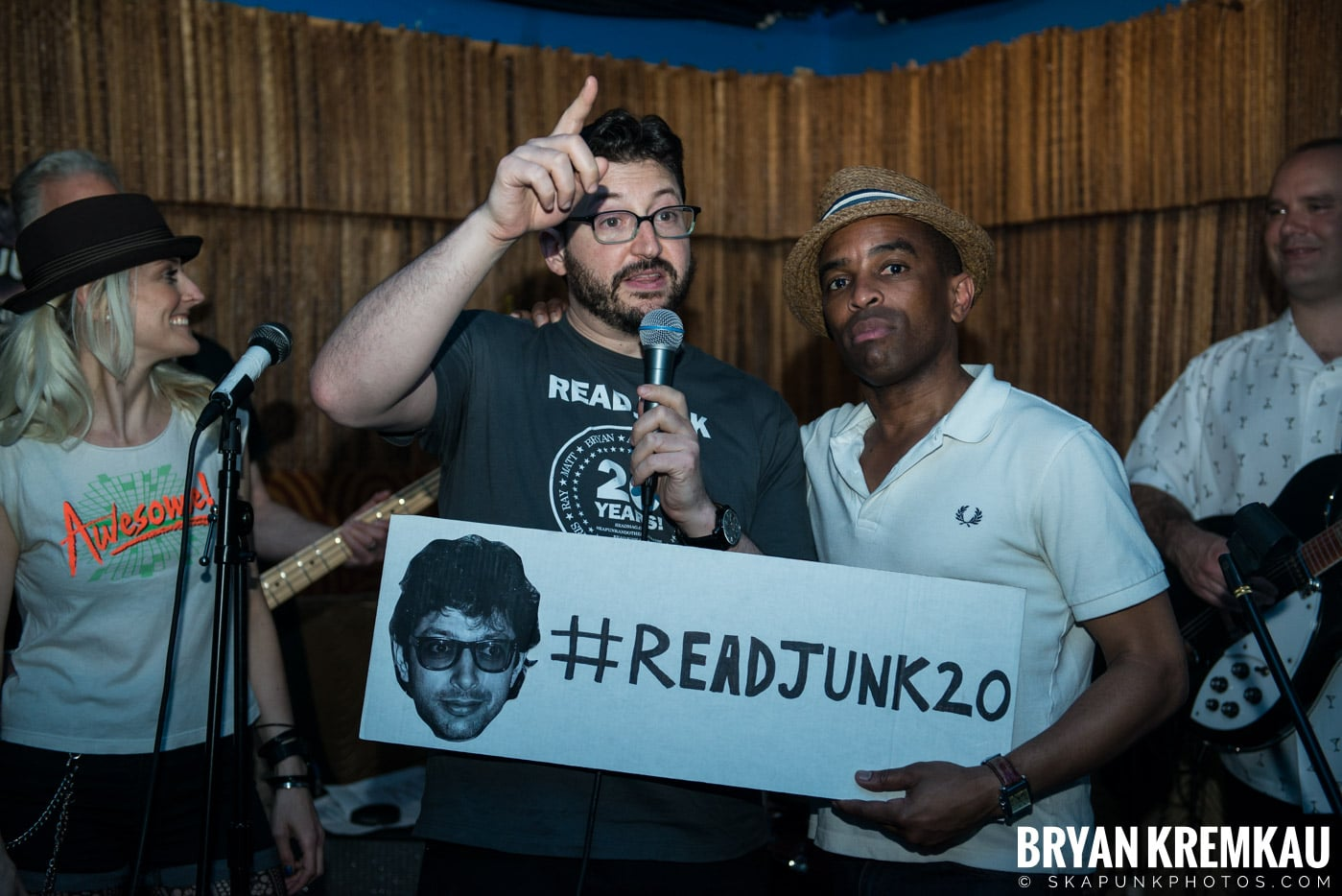 ReadJunk.com 20th Anniversary Party @ Otto's Shrunken Head, NYC - 4.29.17 (26)