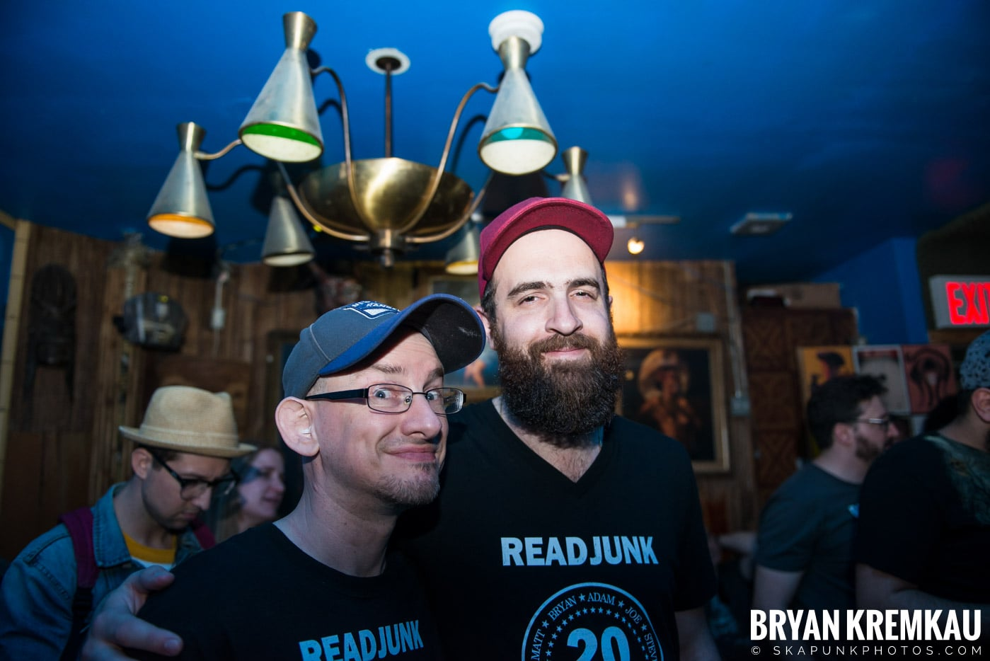 ReadJunk.com 20th Anniversary Party @ Otto's Shrunken Head, NYC - 4.29.17 (25)