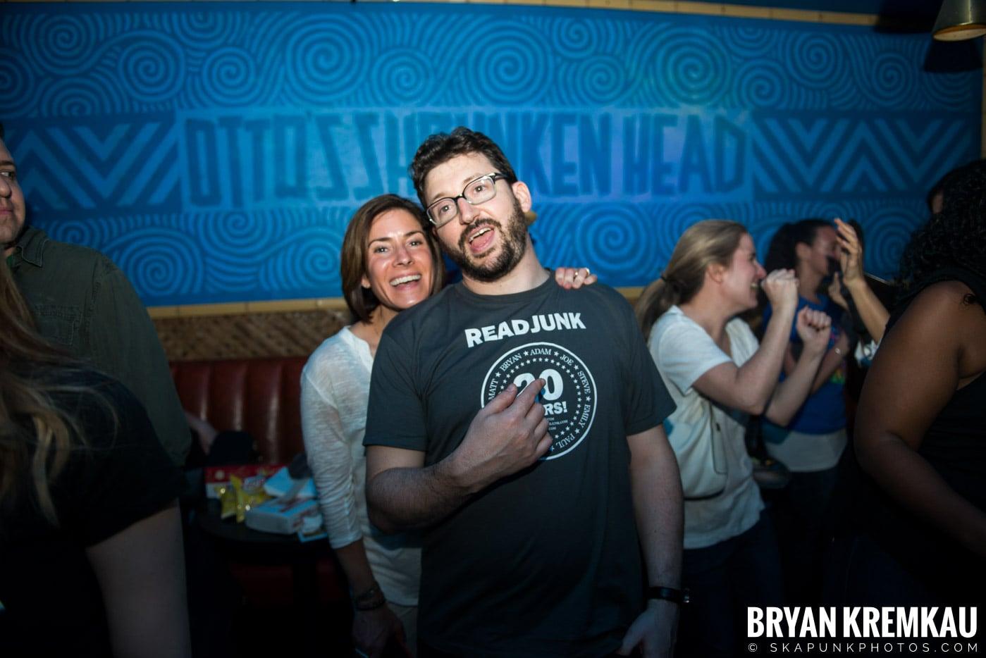 ReadJunk.com 20th Anniversary Party @ Otto's Shrunken Head, NYC - 4.29.17 (8)