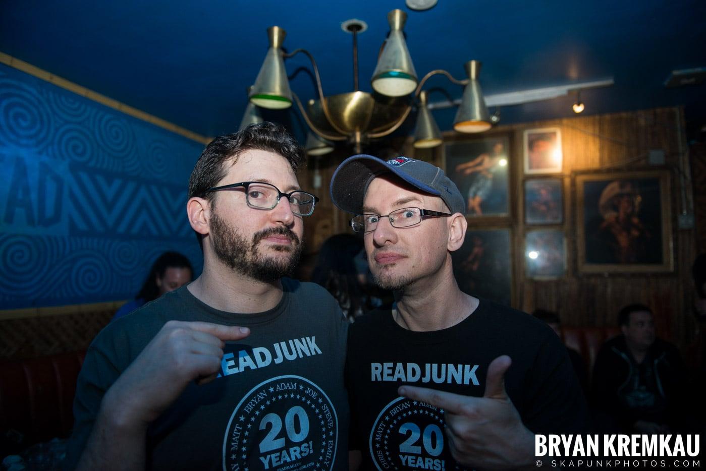 ReadJunk.com 20th Anniversary Party @ Otto's Shrunken Head, NYC - 4.29.17 (7)