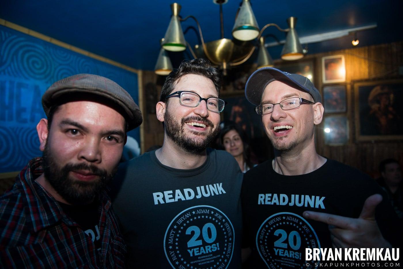 ReadJunk.com 20th Anniversary Party @ Otto's Shrunken Head, NYC - 4.29.17 (6)