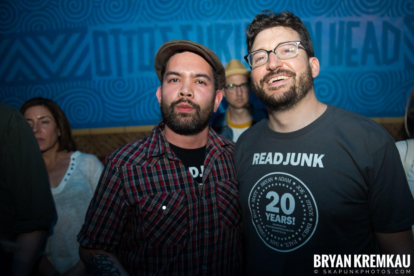 ReadJunk.com 20th Anniversary Party @ Otto's Shrunken Head, NYC - 4.29.17 (5)