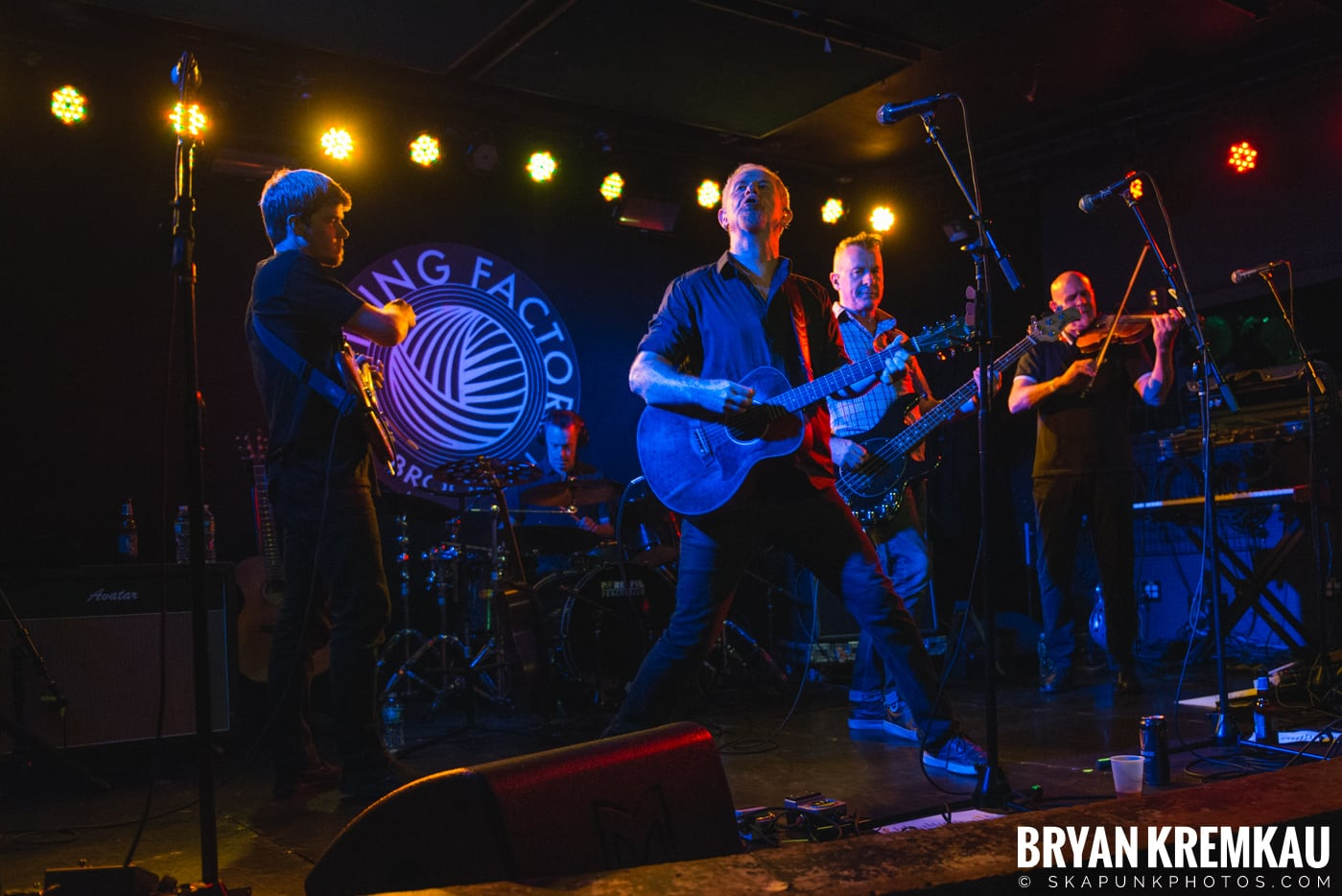 Young Dubliners @ Knitting Factory, Brooklyn, NY - 9.5.18 (27)