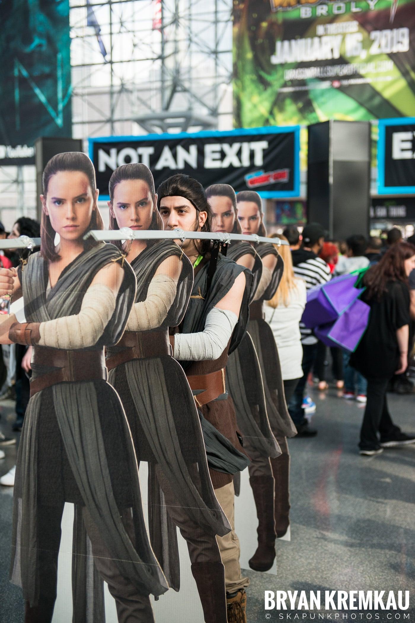 New York Comic Con 2018: Friday - 10.5.18 (2)