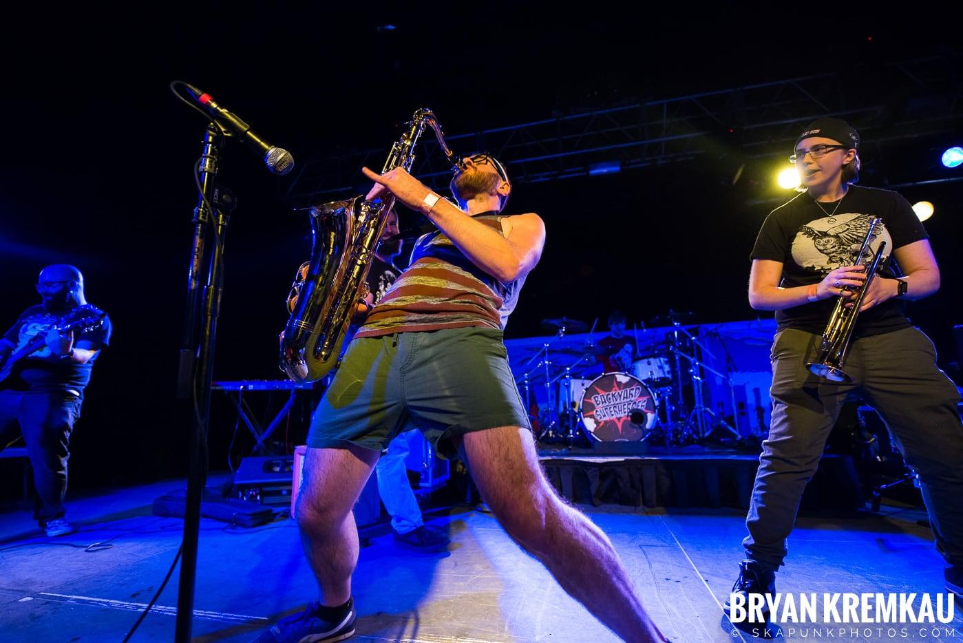 Backyard Superheroes @ Starland Ballroom, Sayreville, NJ - 11.23.18 (1)