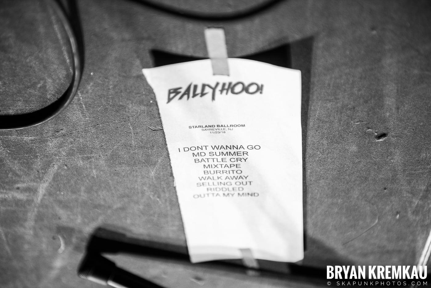 Ballyhoo! @ Starland Ballroom, Sayreville, NJ - 11.23.18 (33)