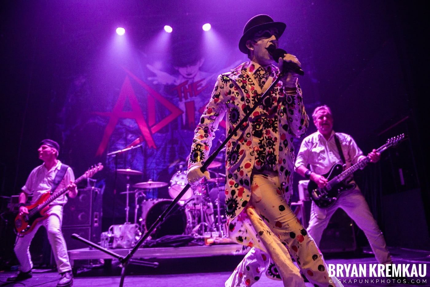 The Adicts @ Gramercy Theatre, NYC - 1.16.20 (49)